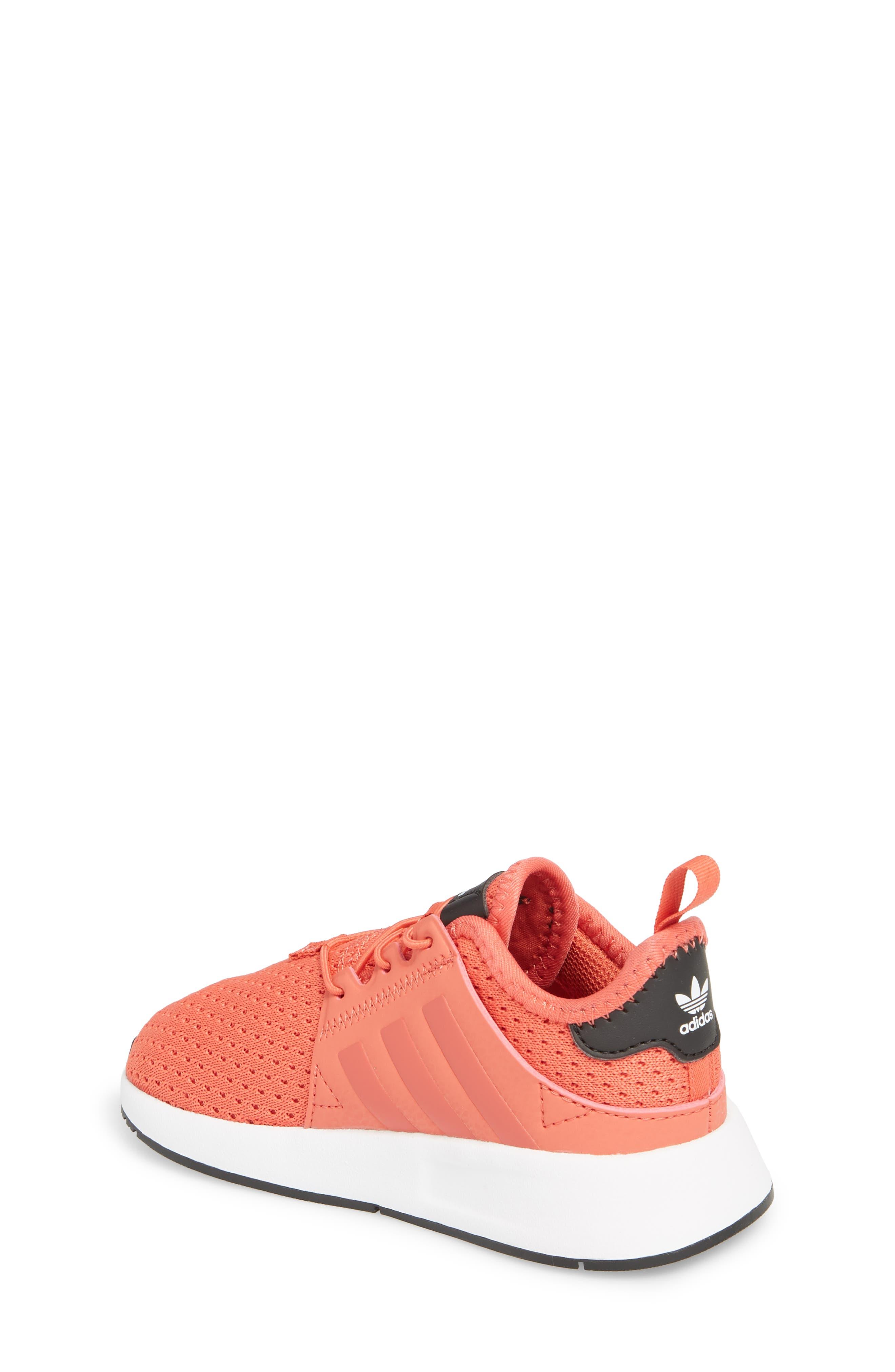 X_PLR Sneaker,                             Alternate thumbnail 2, color,                             Trace Scarlet/ White