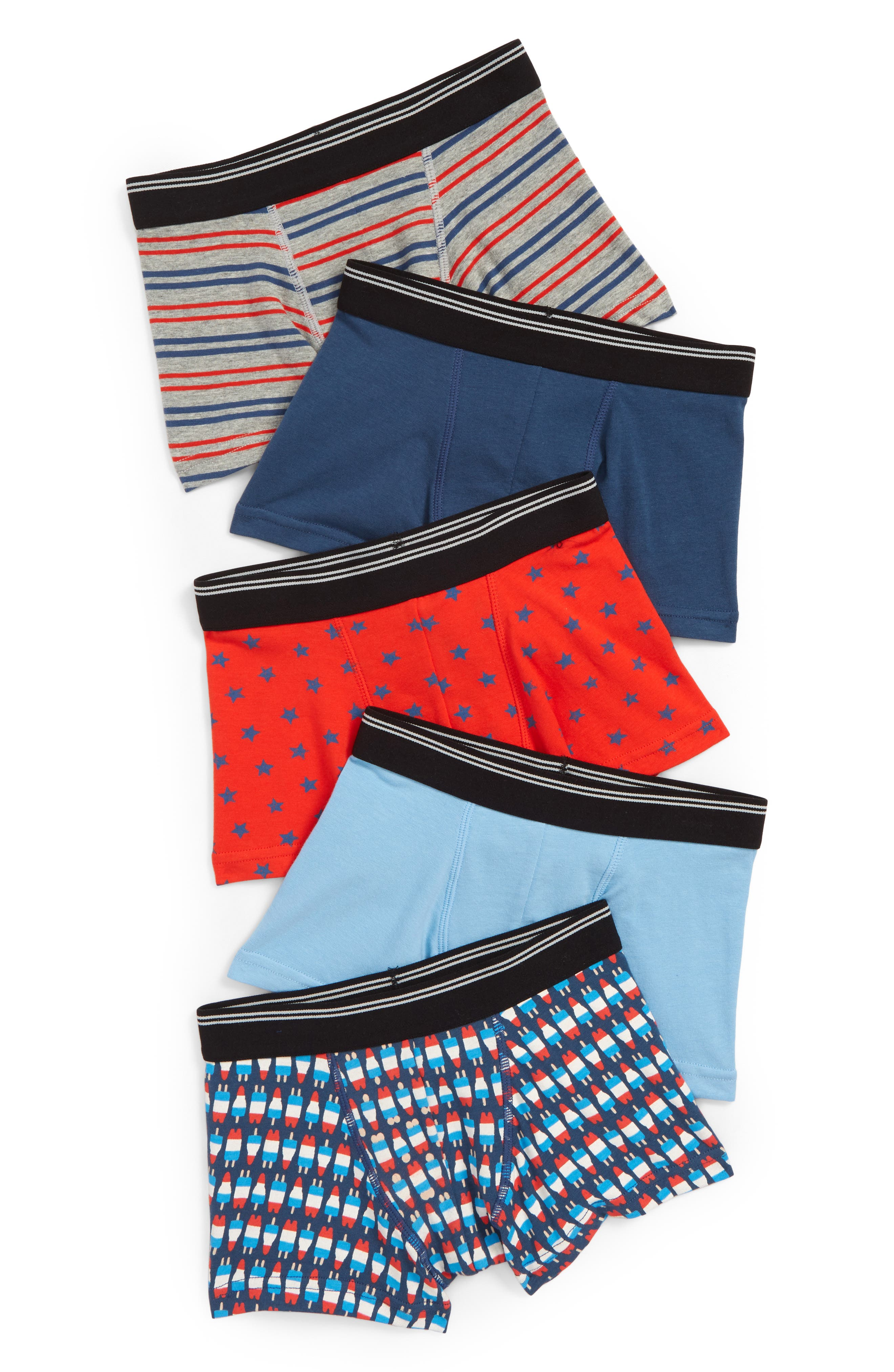 5-Pack Trunks,                             Main thumbnail 1, color,                             Americana Pack