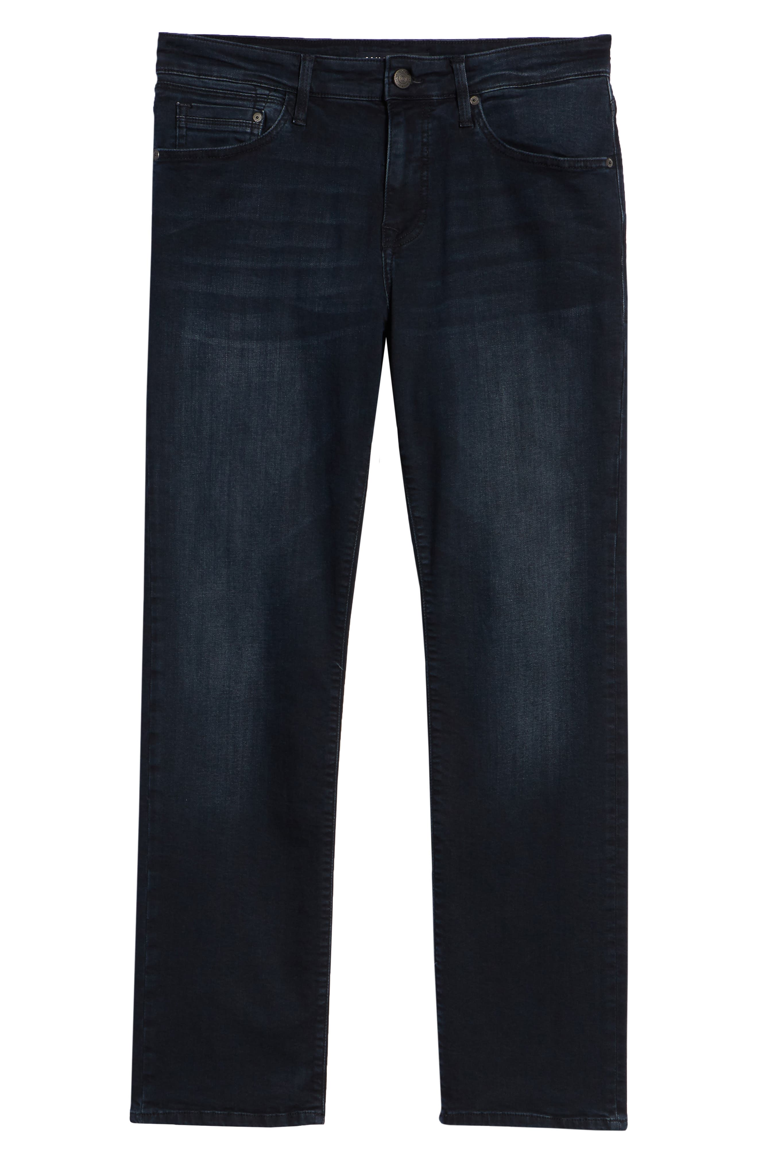 Matt Relaxed Fit Jeans,                             Alternate thumbnail 6, color,                             Ink Brushed Williamsburg