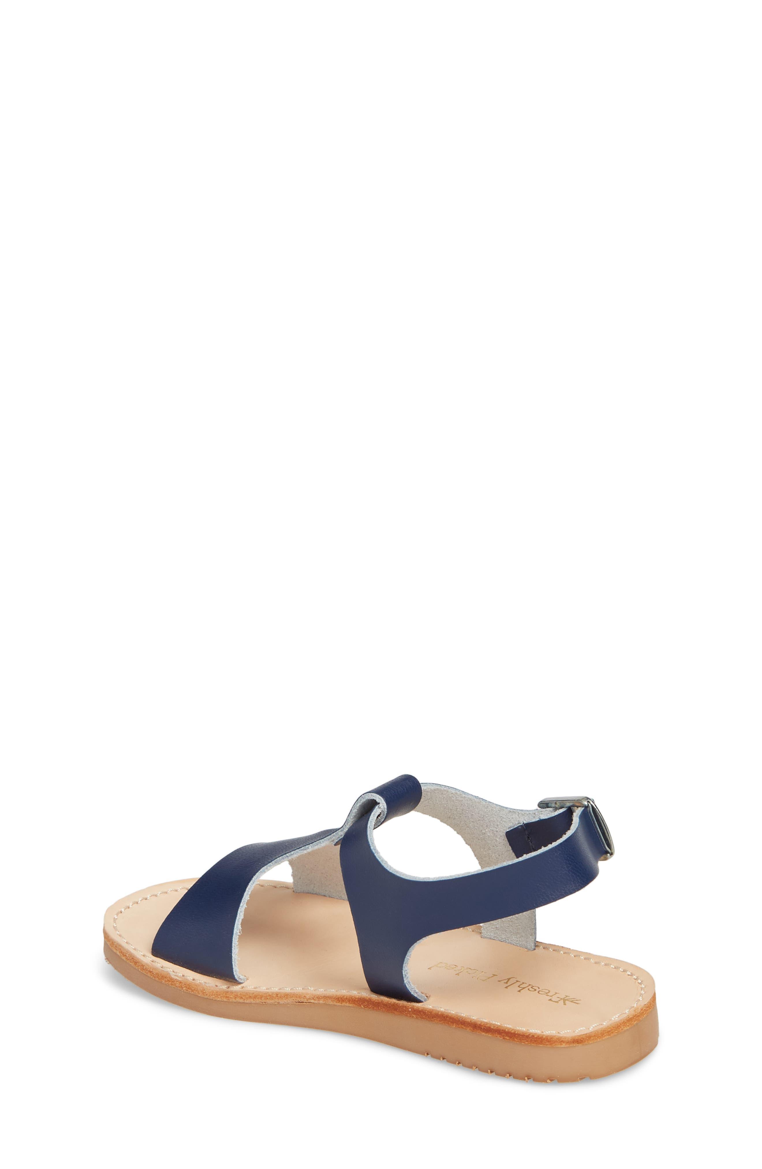 Malibu Water Resistant Sandal,                             Alternate thumbnail 2, color,                             Navy