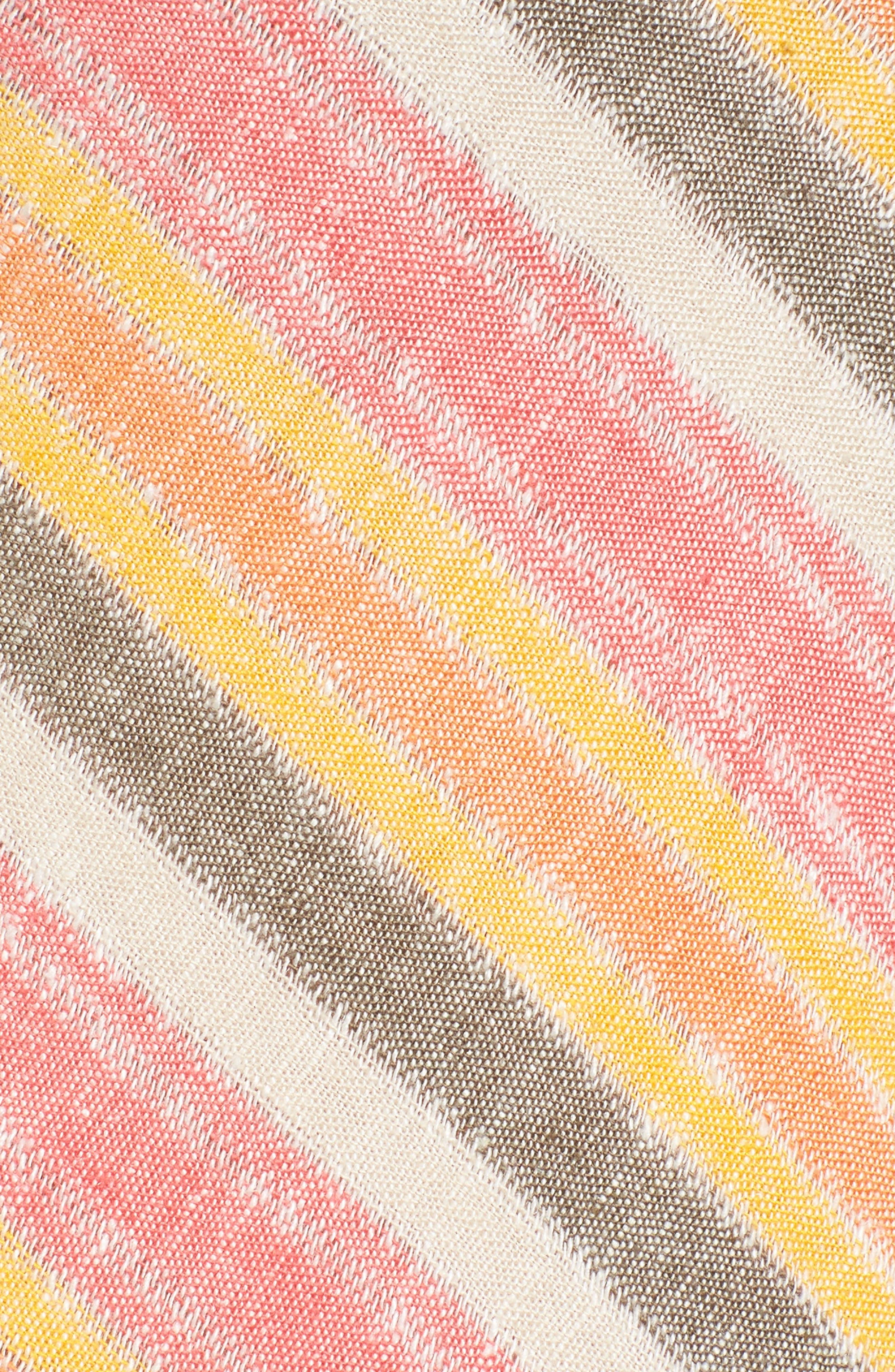 Stripe A-Line Maxi Dress,                             Alternate thumbnail 6, color,                             Coral Erin Stripe
