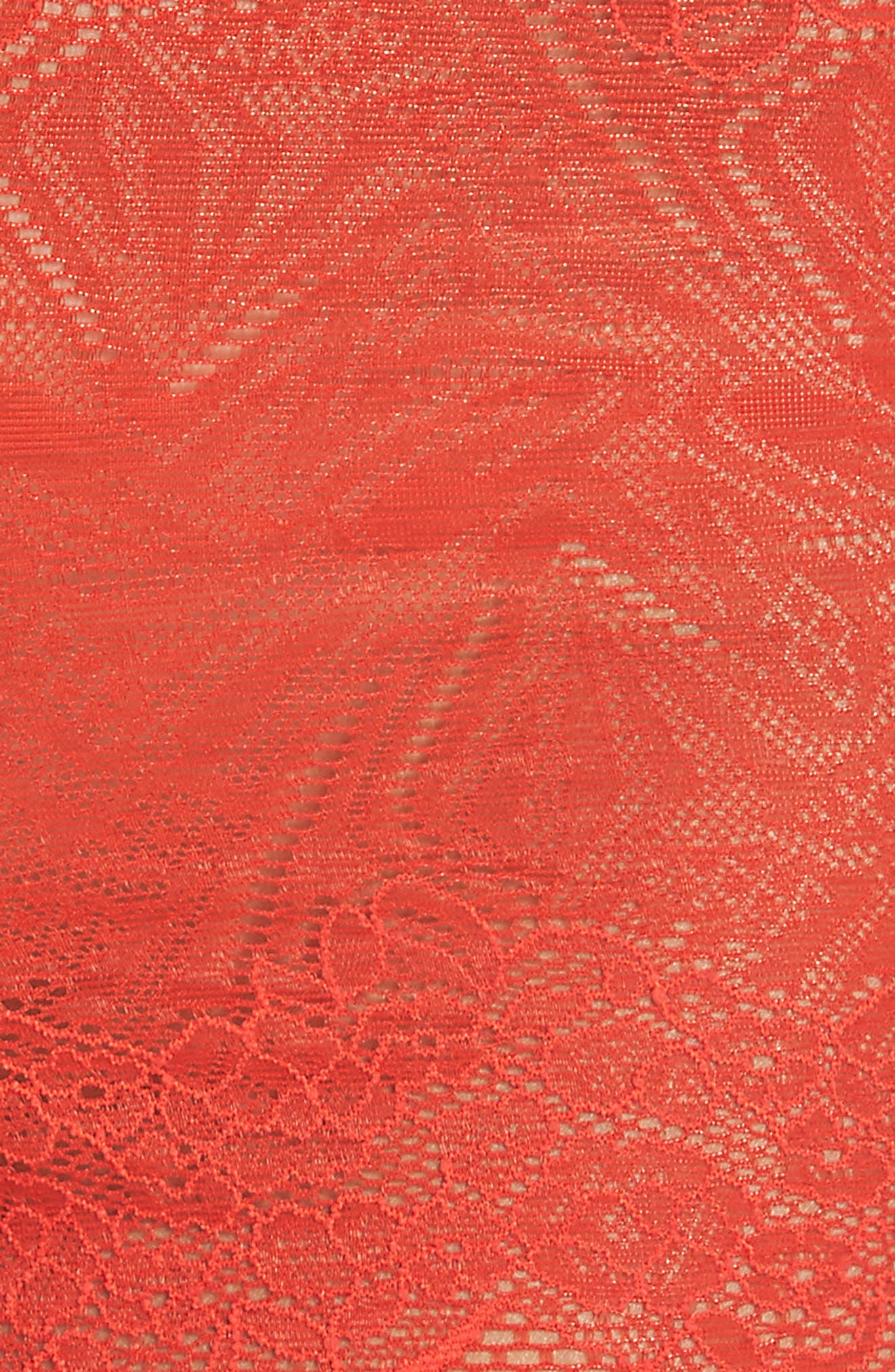 Lace Boyshorts,                             Alternate thumbnail 8, color,                             Ripe Persimmon