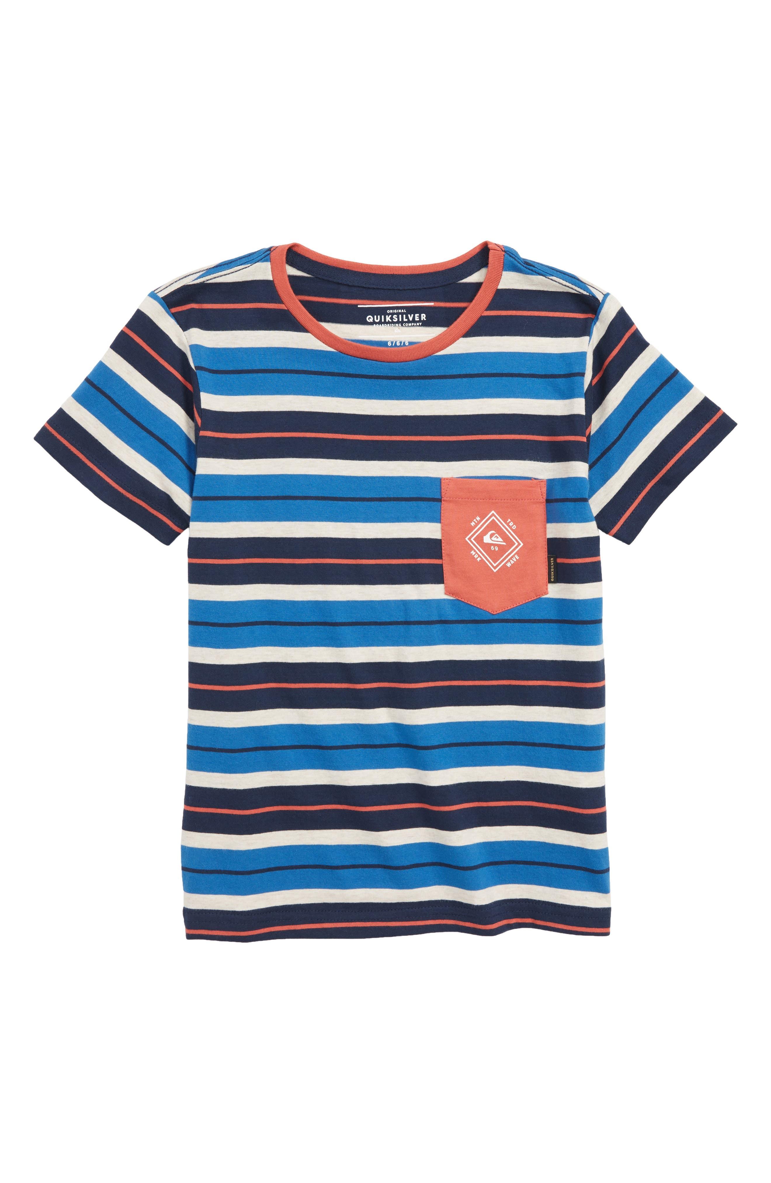 Oloa Stripe Shirt,                         Main,                         color, Bright Cobalt