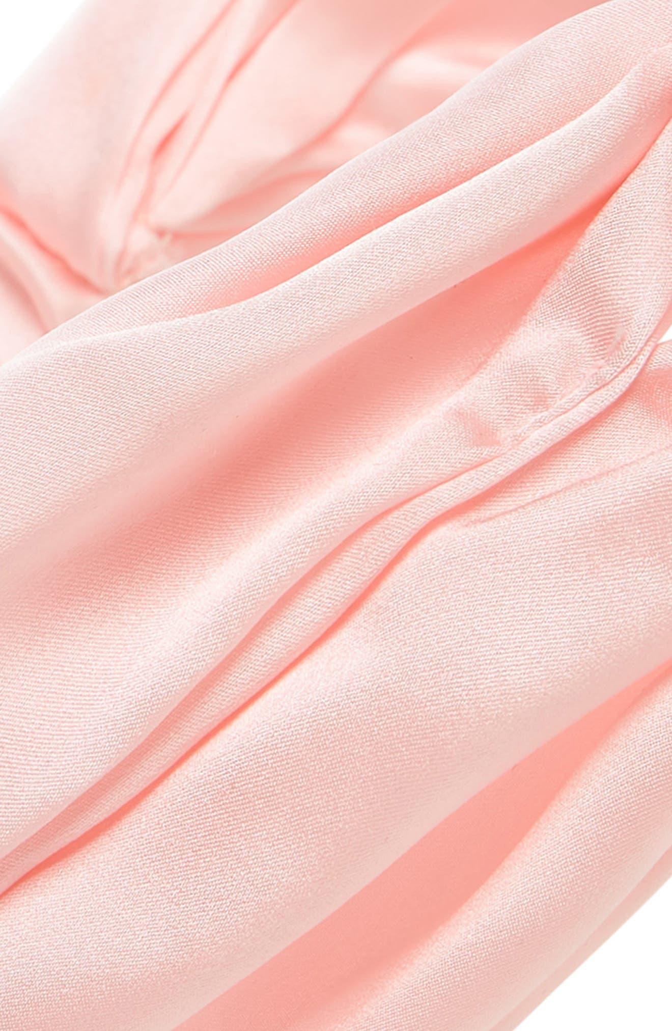 ChaCha Silk Turban Head Wrap,                             Alternate thumbnail 2, color,                             Pink