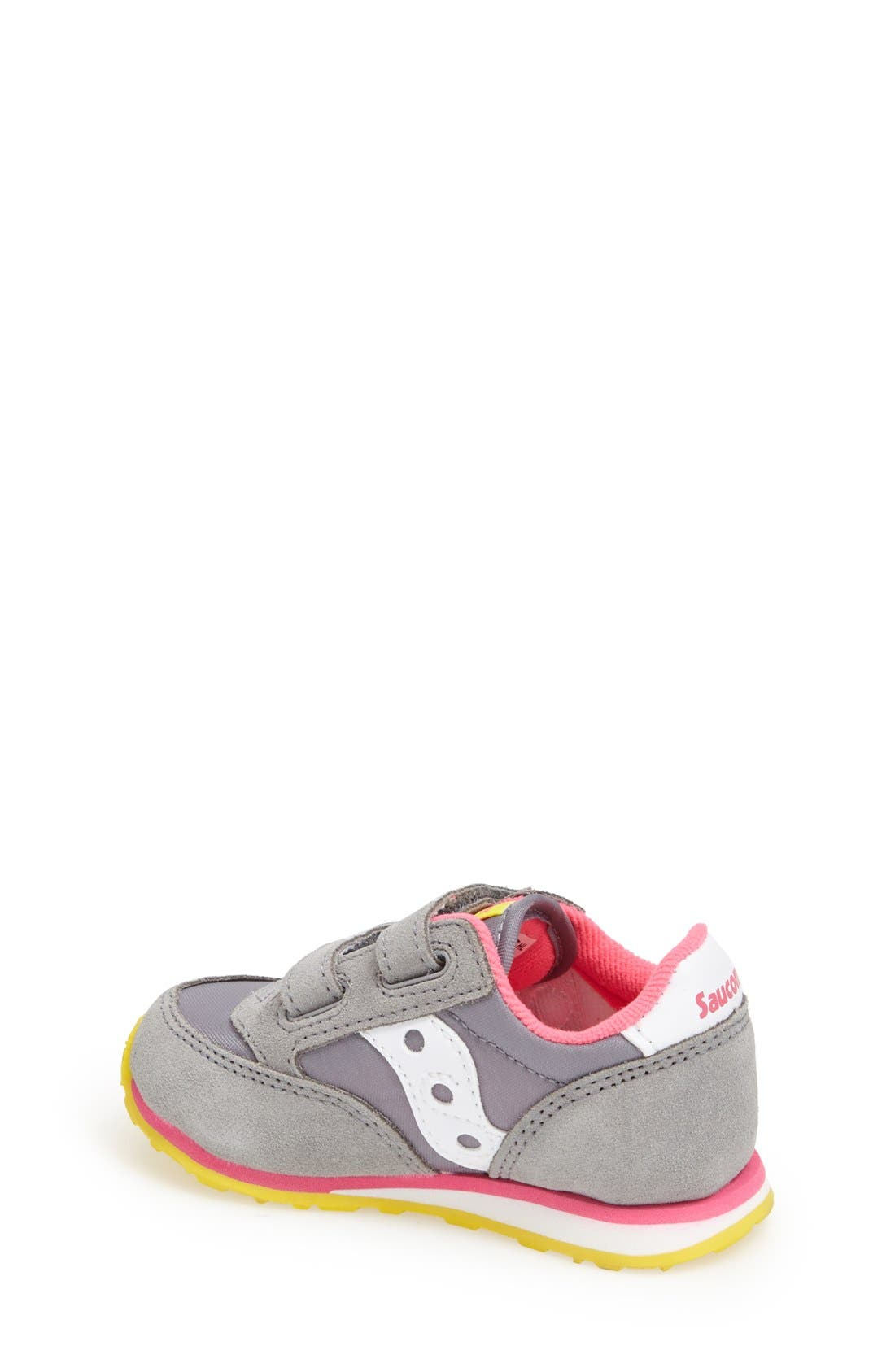 Alternate Image 2  - Saucony 'Jazz' Hook & Loop Sneaker (Baby, Walker & Toddler)