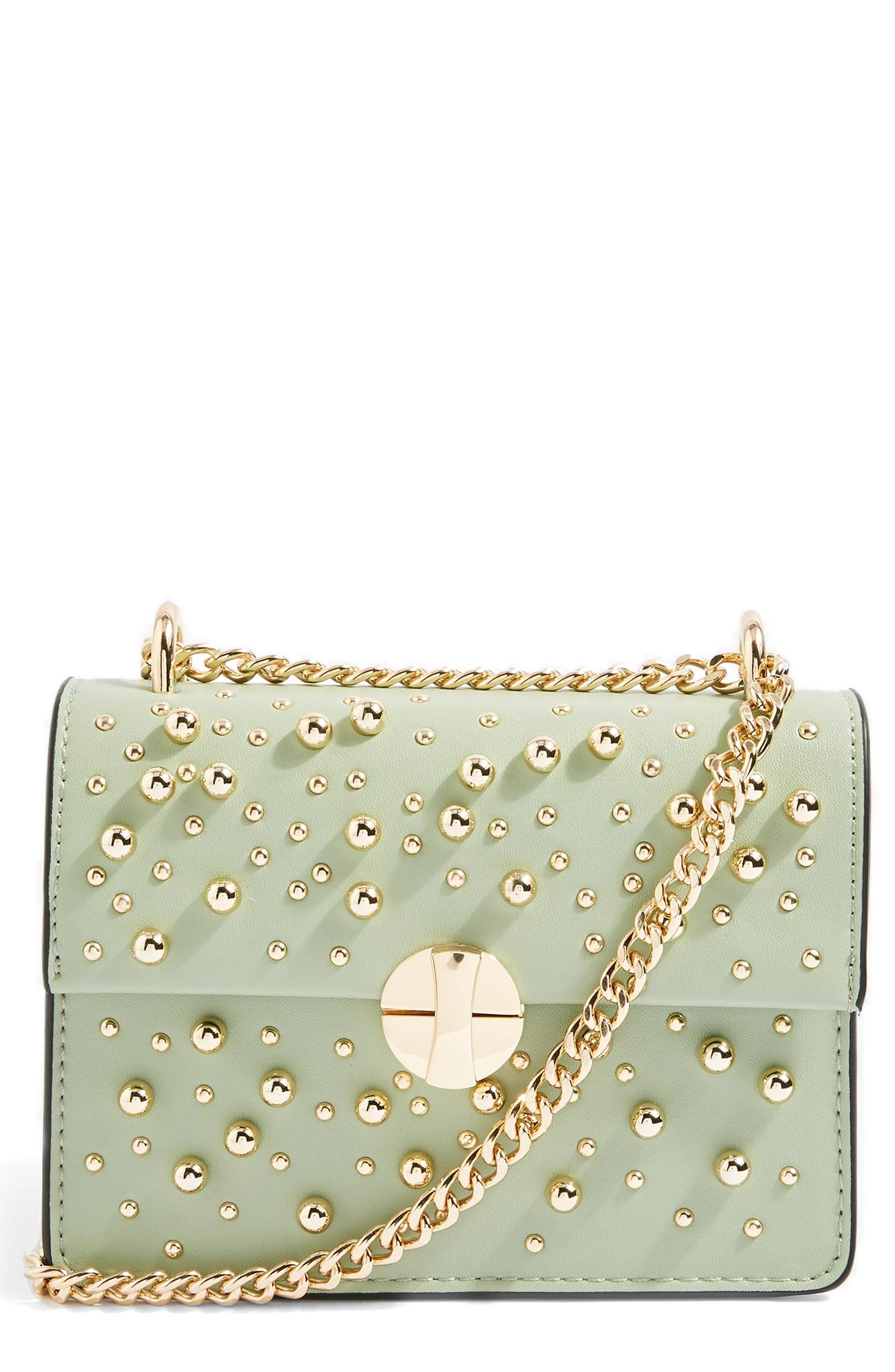 Betty Ball Crossbody Bag,                         Main,                         color, Green