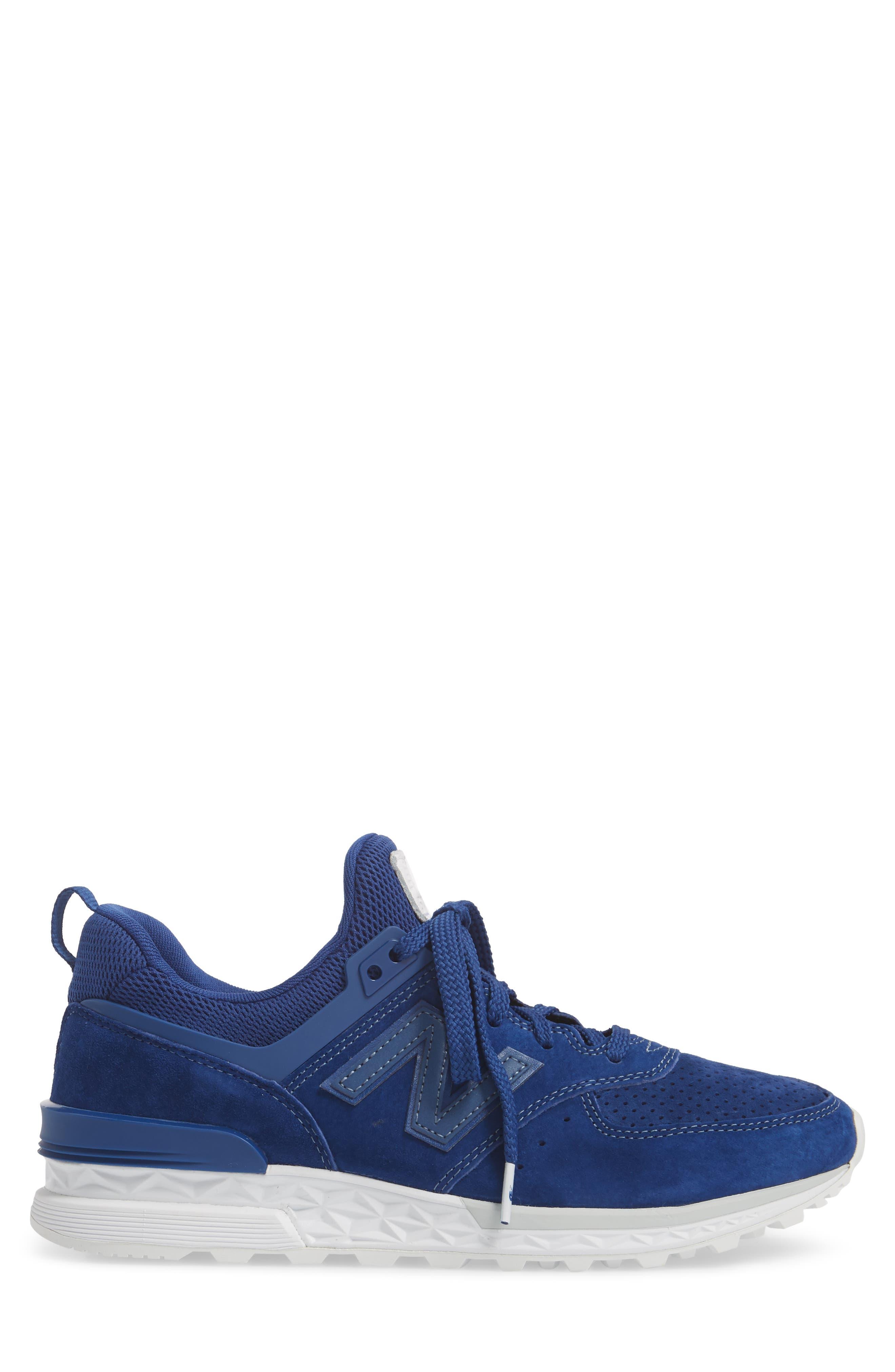 574 Sport Sneaker,                             Alternate thumbnail 3, color,                             Atlantic