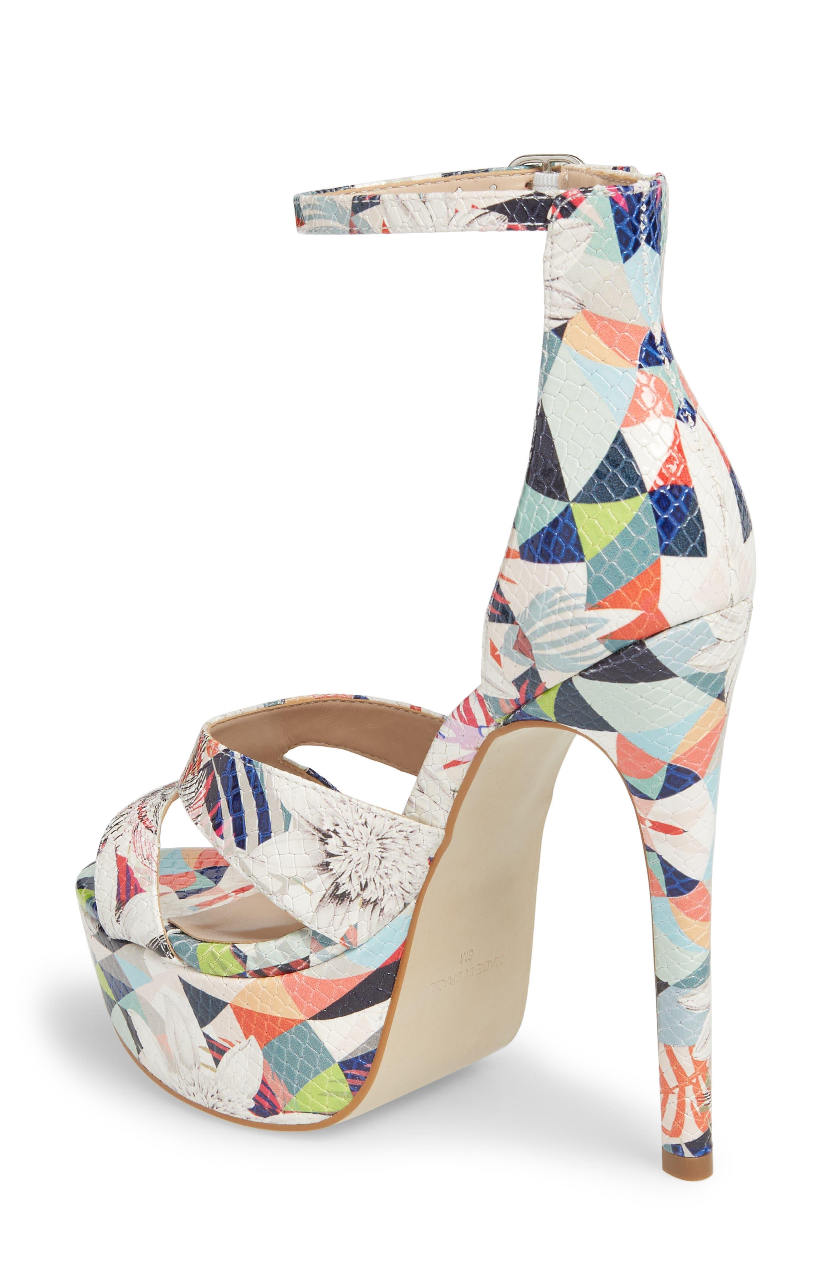 Janelle Platform Sandal,                             Alternate thumbnail 2, color,                             Bright Multi