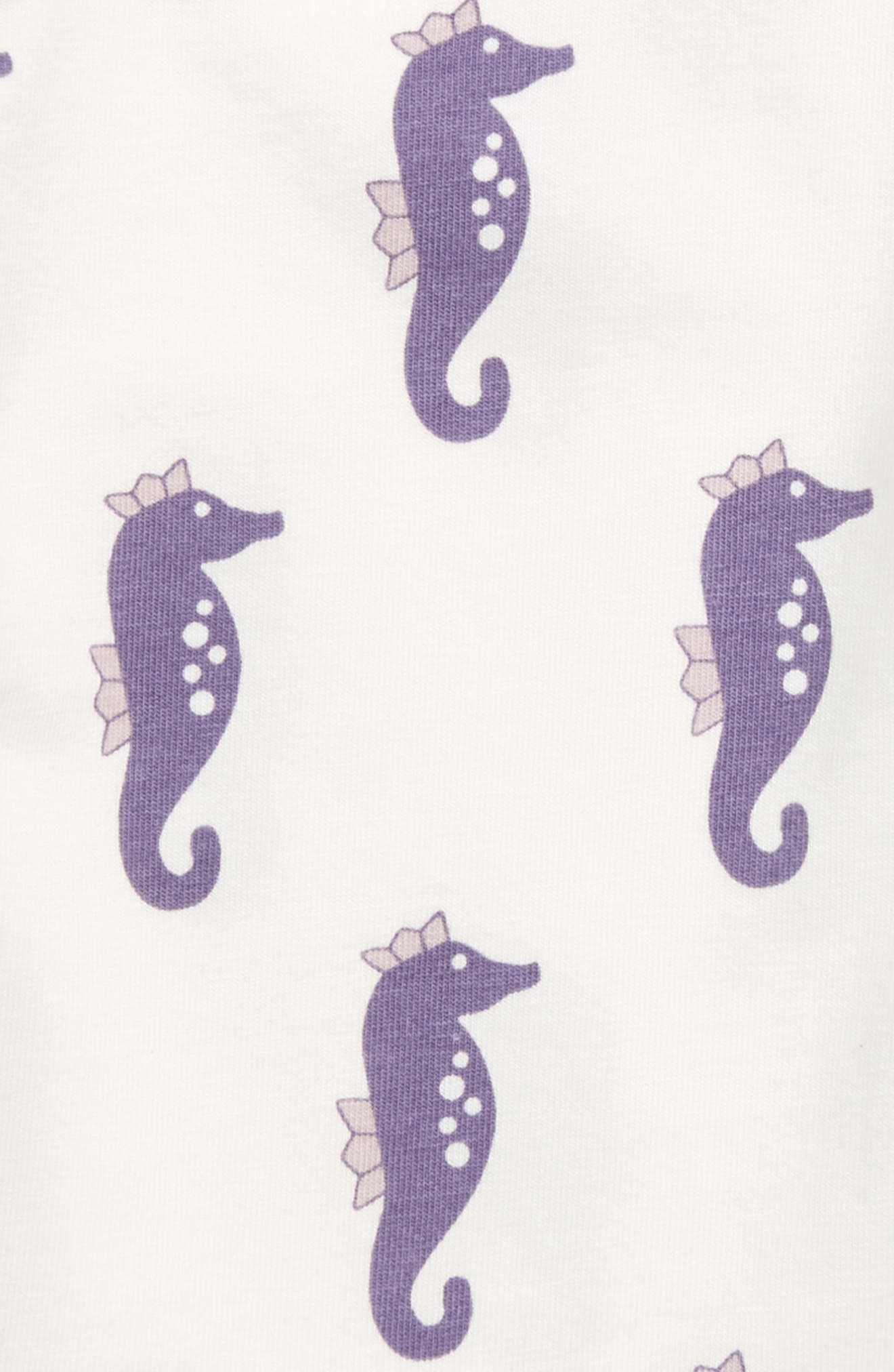 Jack & Jill Bodysuit,                             Alternate thumbnail 2, color,                             Little Sea Horse