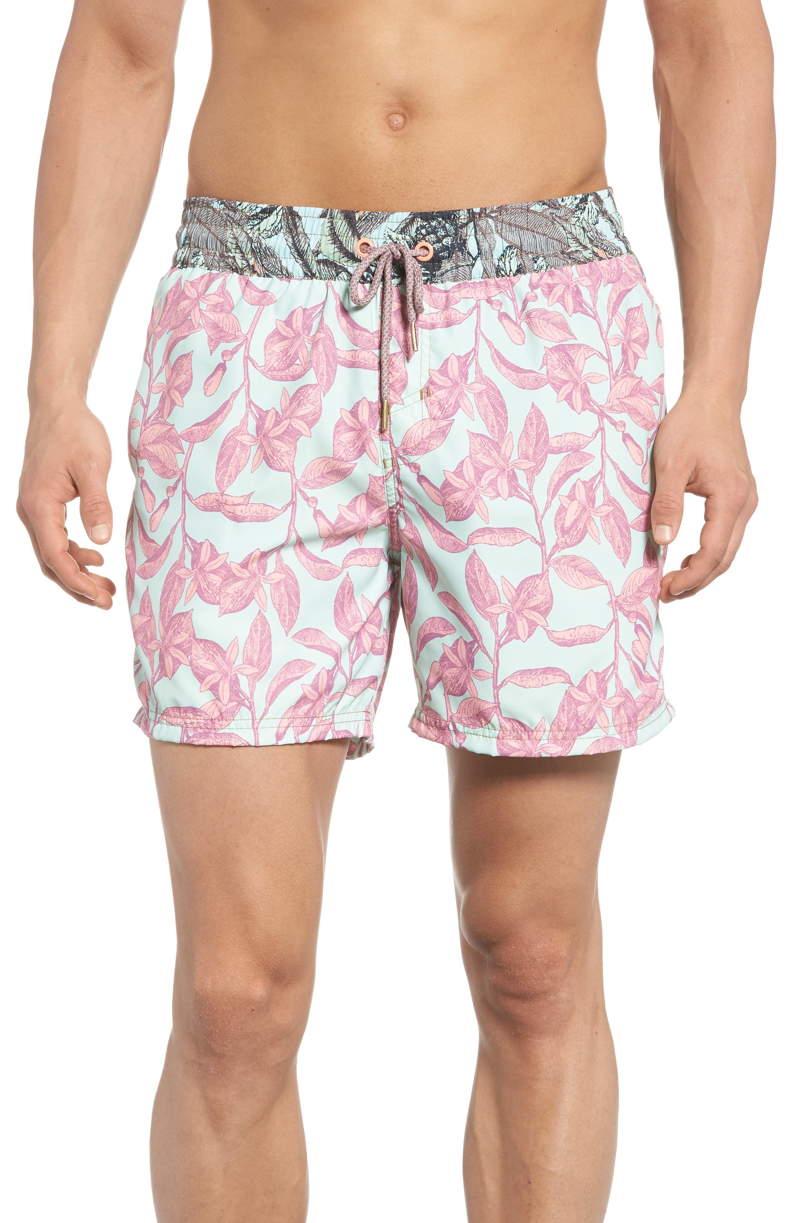 Joy Quest Swim Trunks,                         Main,                         color, Multicolor
