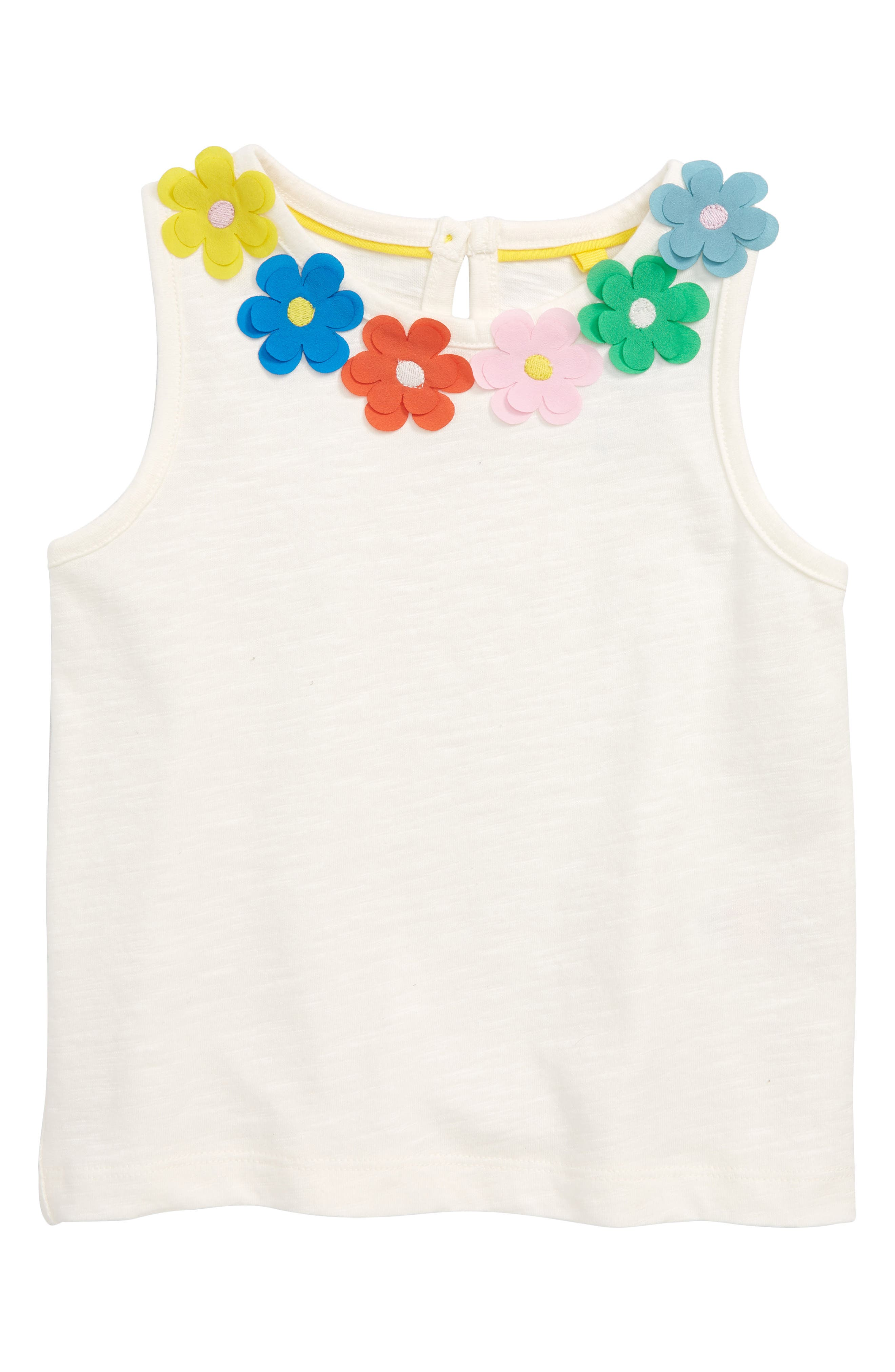 Flower Power Tank,                             Main thumbnail 1, color,                             Ivoivory/ Multi Daisies