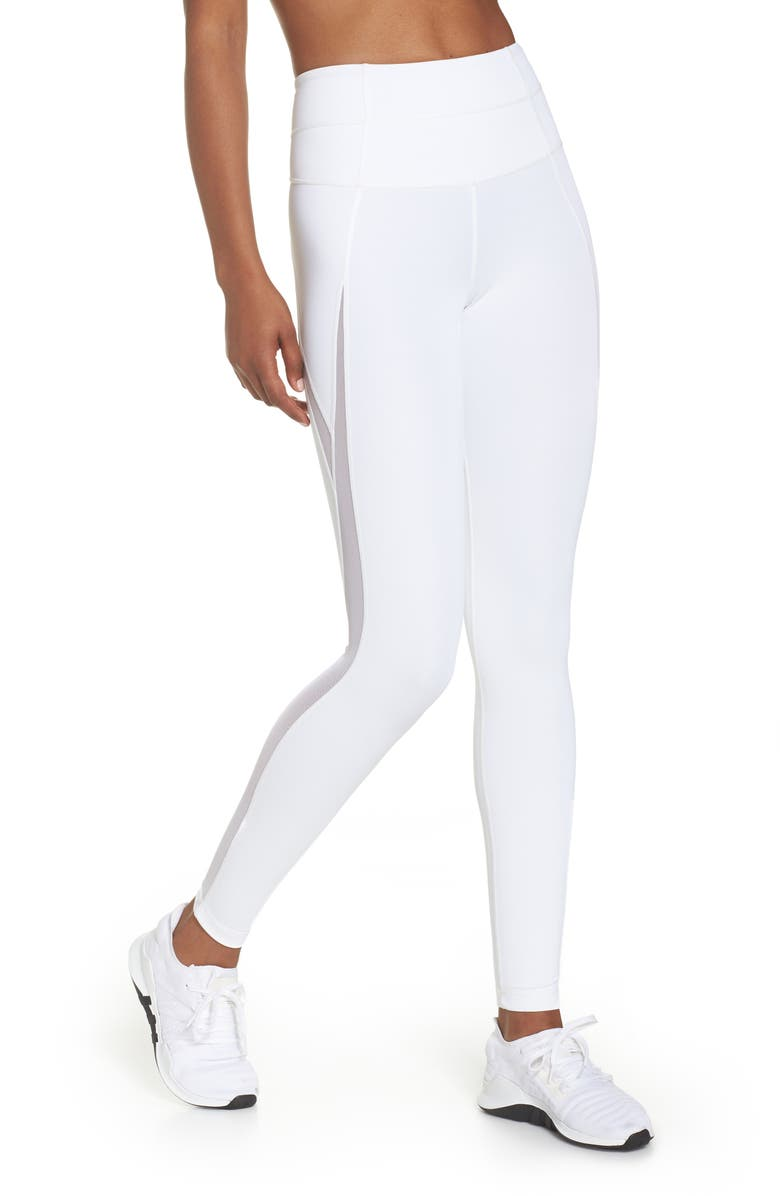 High Waist V-Back Ankle Leggings