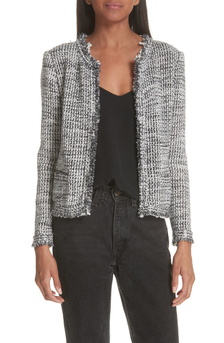 Unplug Metallic Tweed Jacket