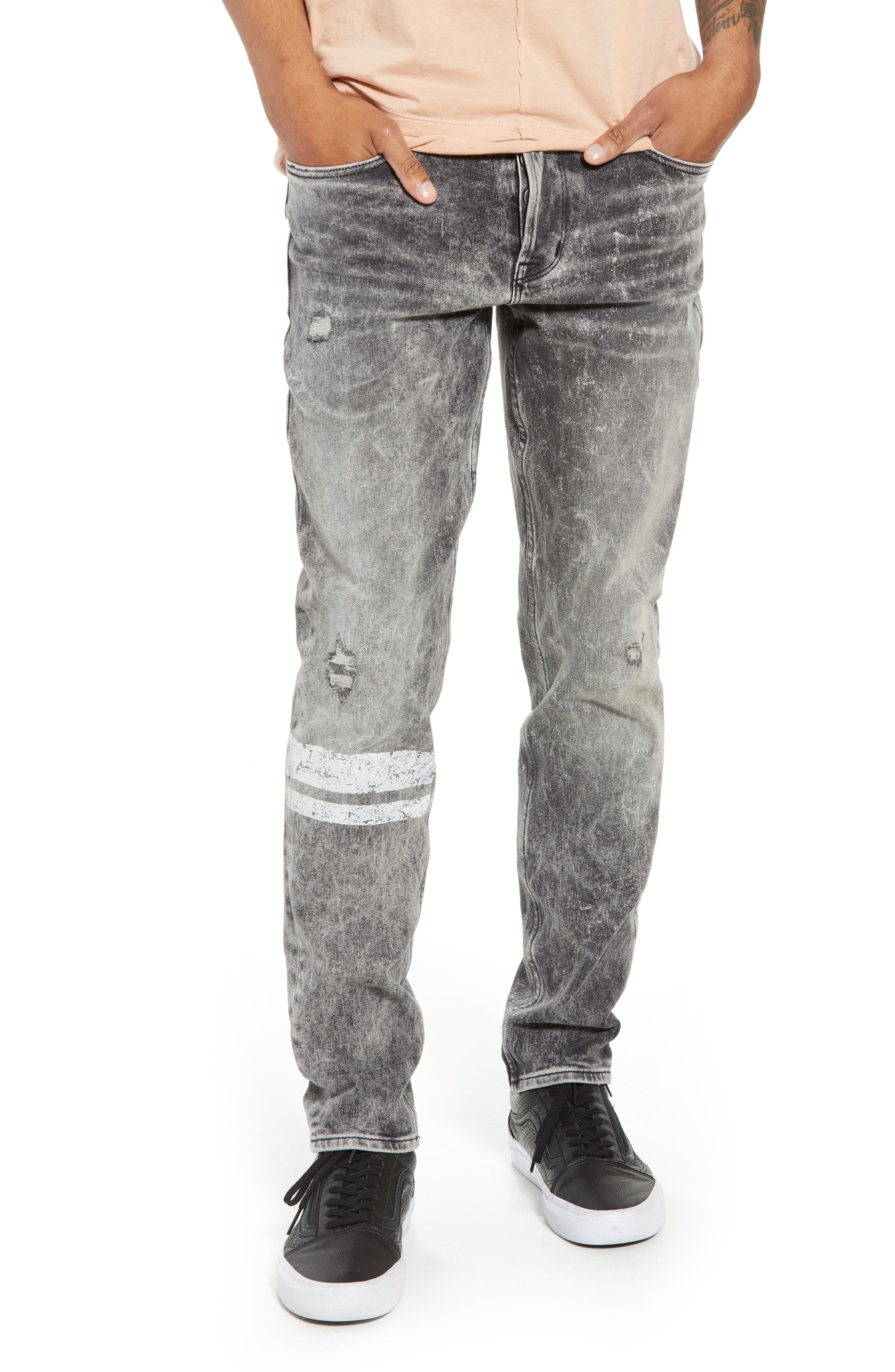 Sartor Slouchy Skinny Fit Jeans,                             Main thumbnail 1, color,                             Cut Copy