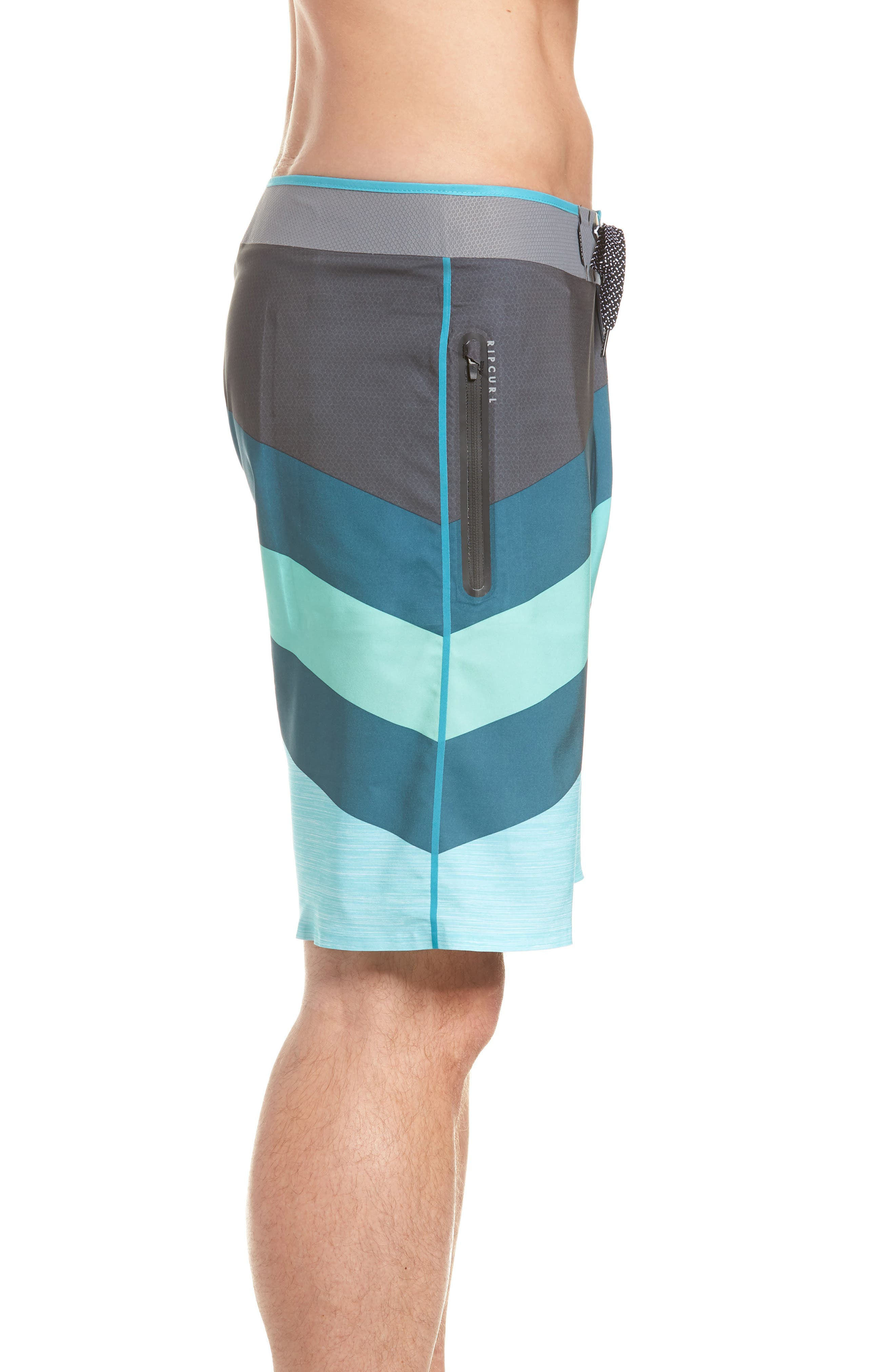 Mirage React Ultimate Board Short,                             Alternate thumbnail 4, color,                             Teal