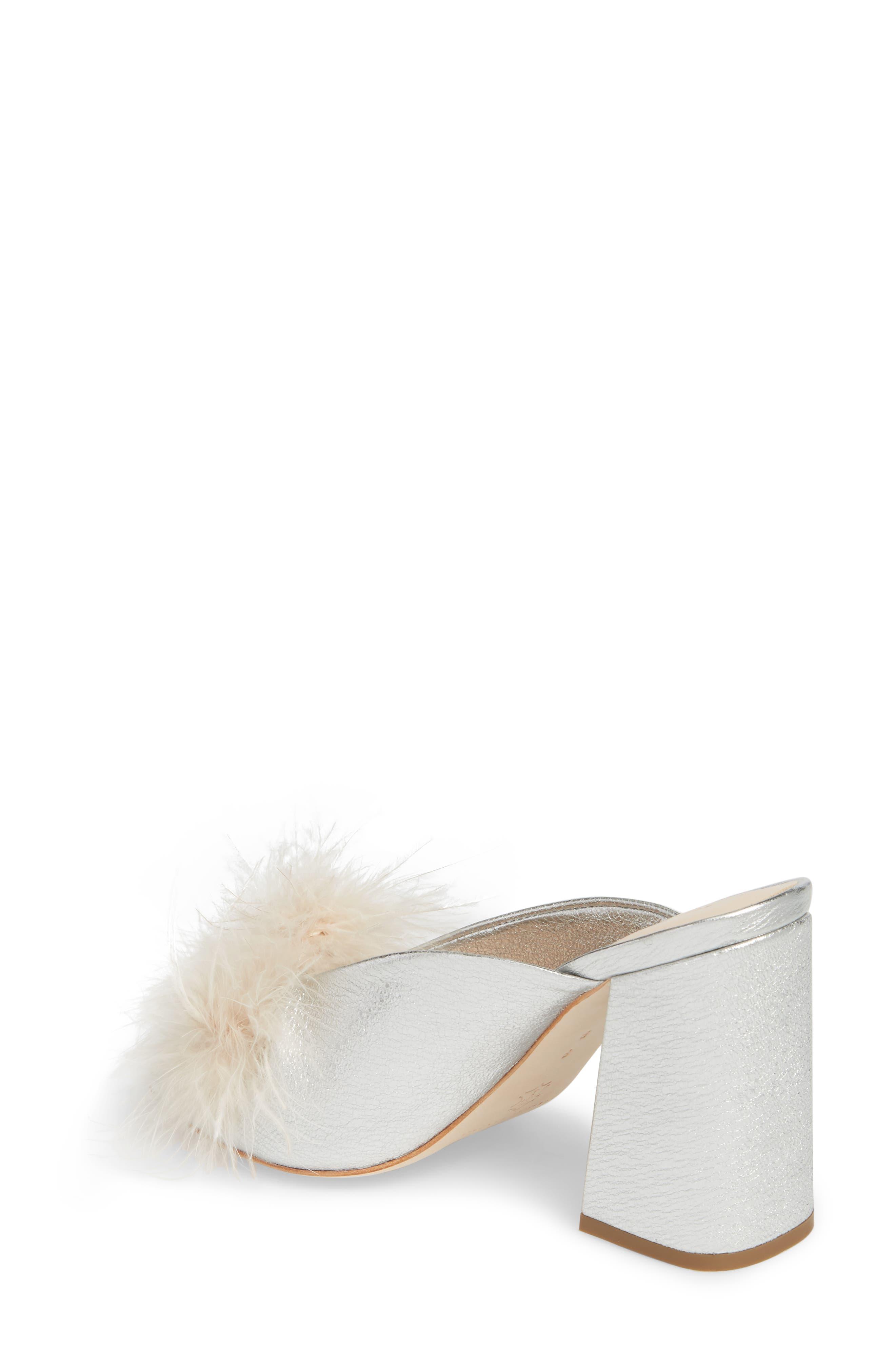 Laurel Slide Sandal,                             Alternate thumbnail 2, color,                             Silver