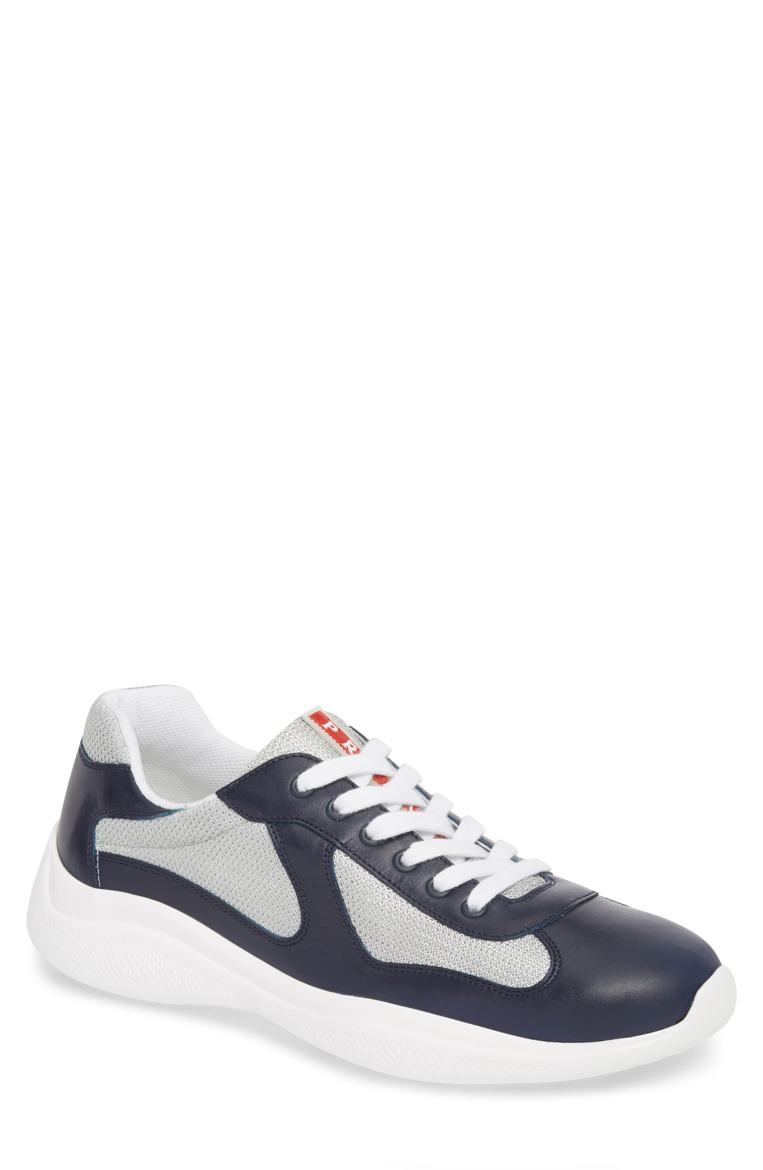 'Punta Ala' Sneaker,                             Main thumbnail 1, color,                             Baltic Blue/ Argento