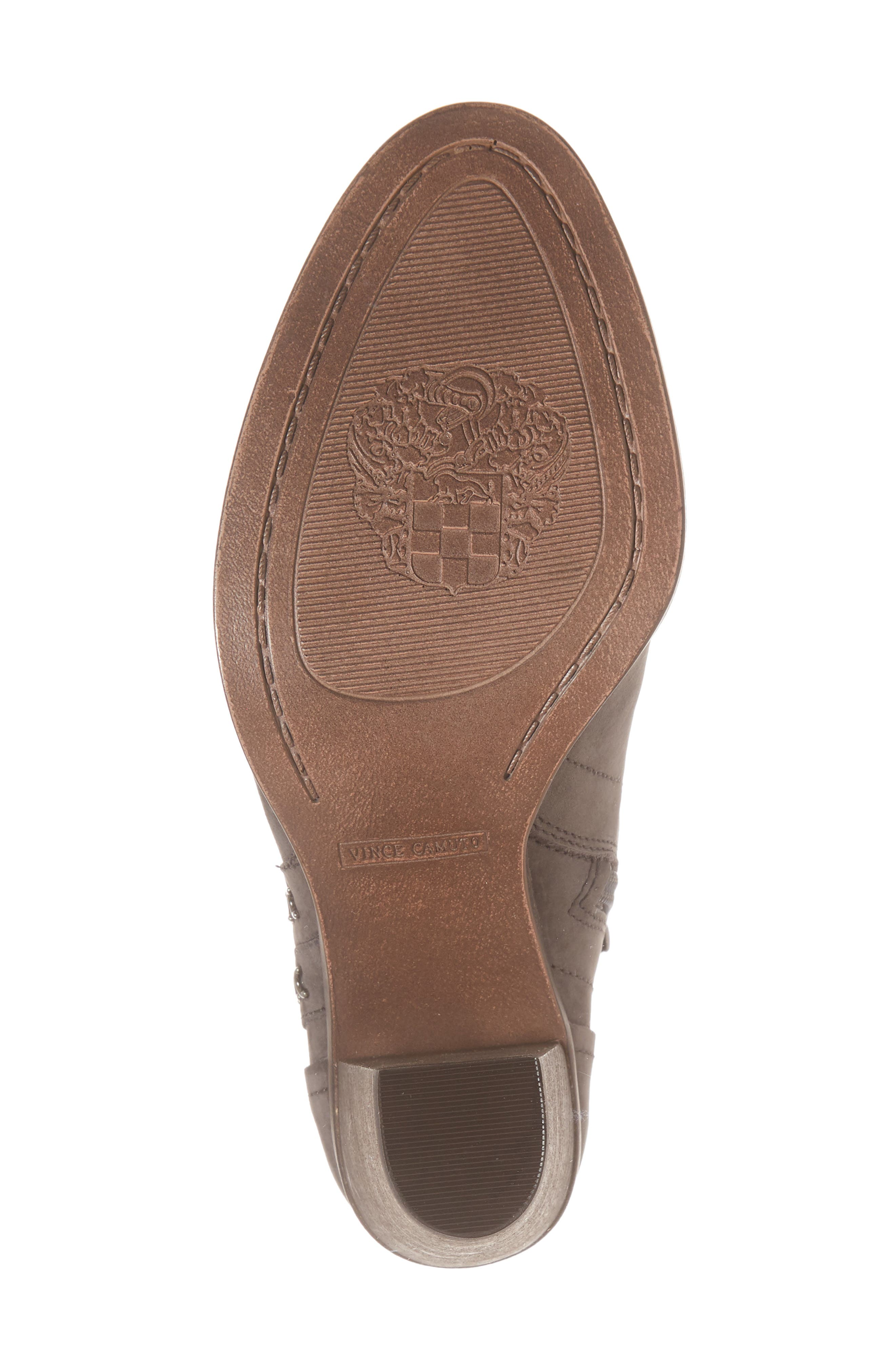 Finchie Bootie,                             Alternate thumbnail 6, color,                             Greystone Leather