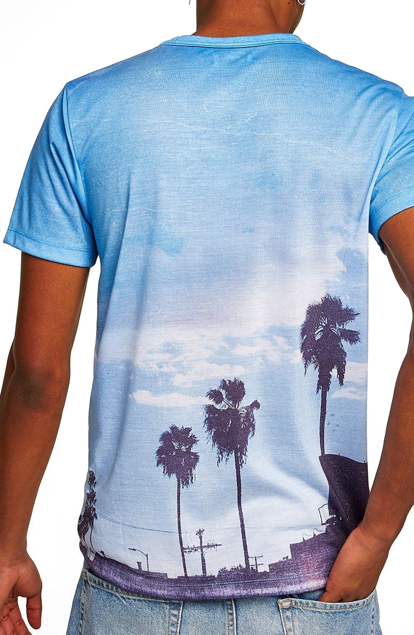 Classic Fit Seclusion Graphic T-Shirt,                             Alternate thumbnail 2, color,                             Blue Multi