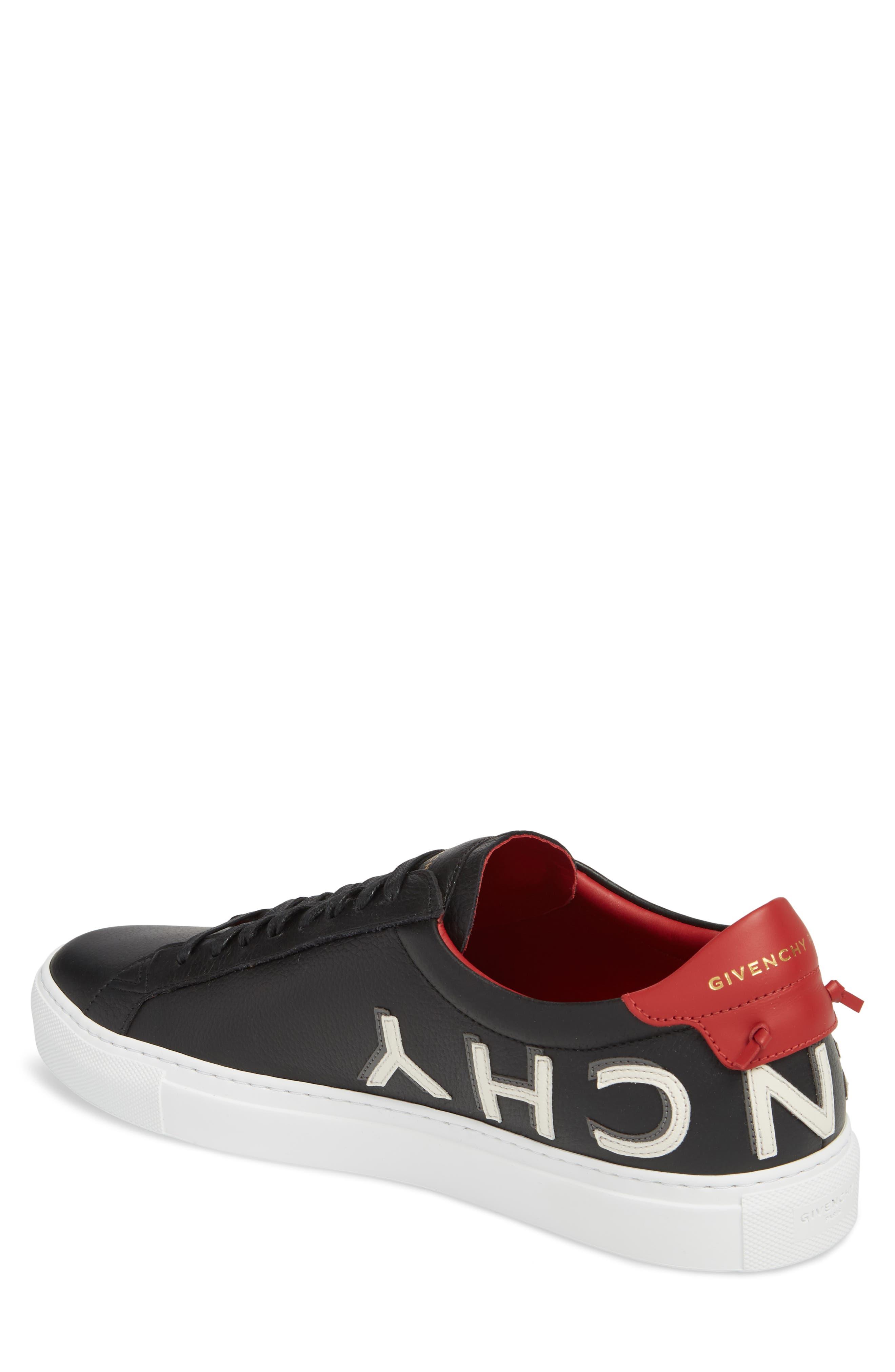 Urban Street Upside Down Sneaker,                             Alternate thumbnail 2, color,                             Black/ Red