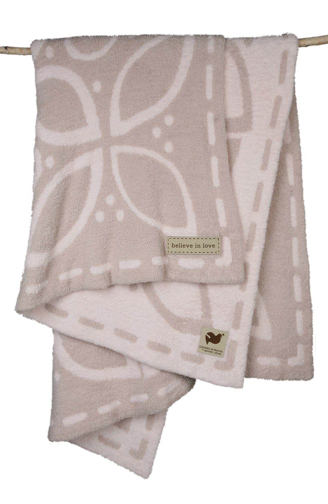Alternate Image 1 Selected - Barefoot Dreams® 'Covered in Prayer' Throw