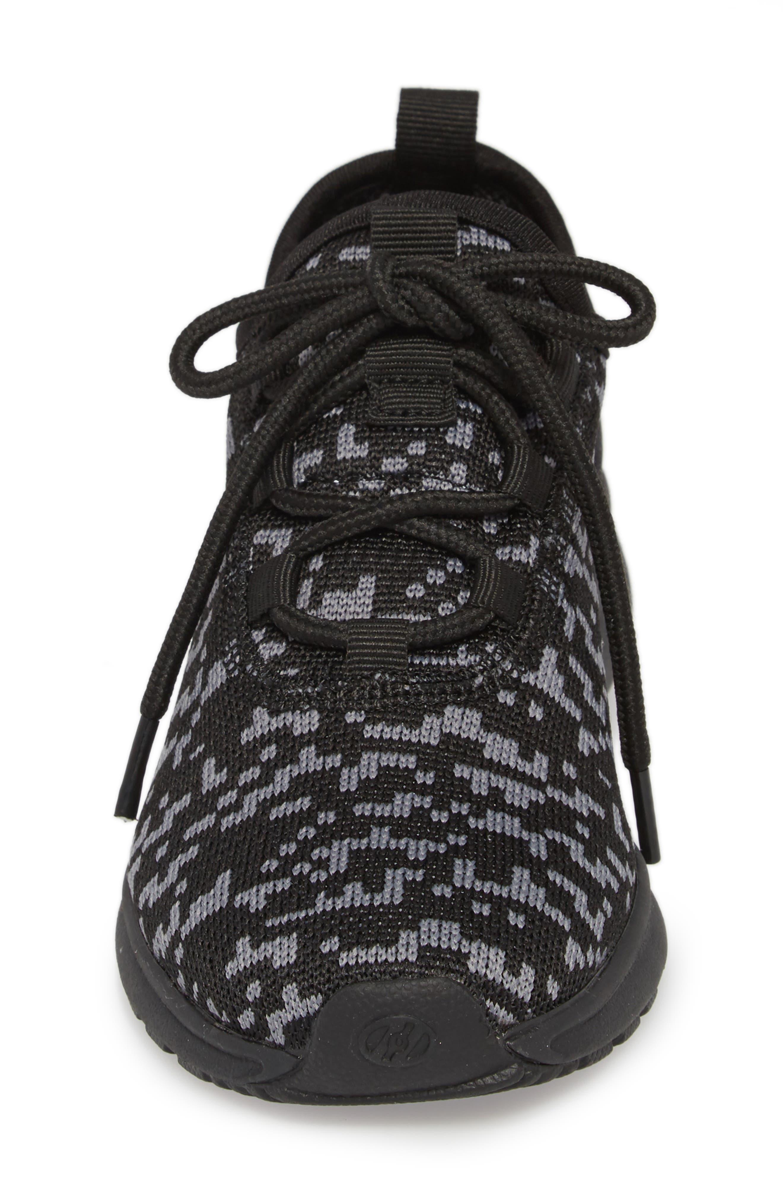 Player Sneaker,                             Alternate thumbnail 4, color,                             Black/ Red