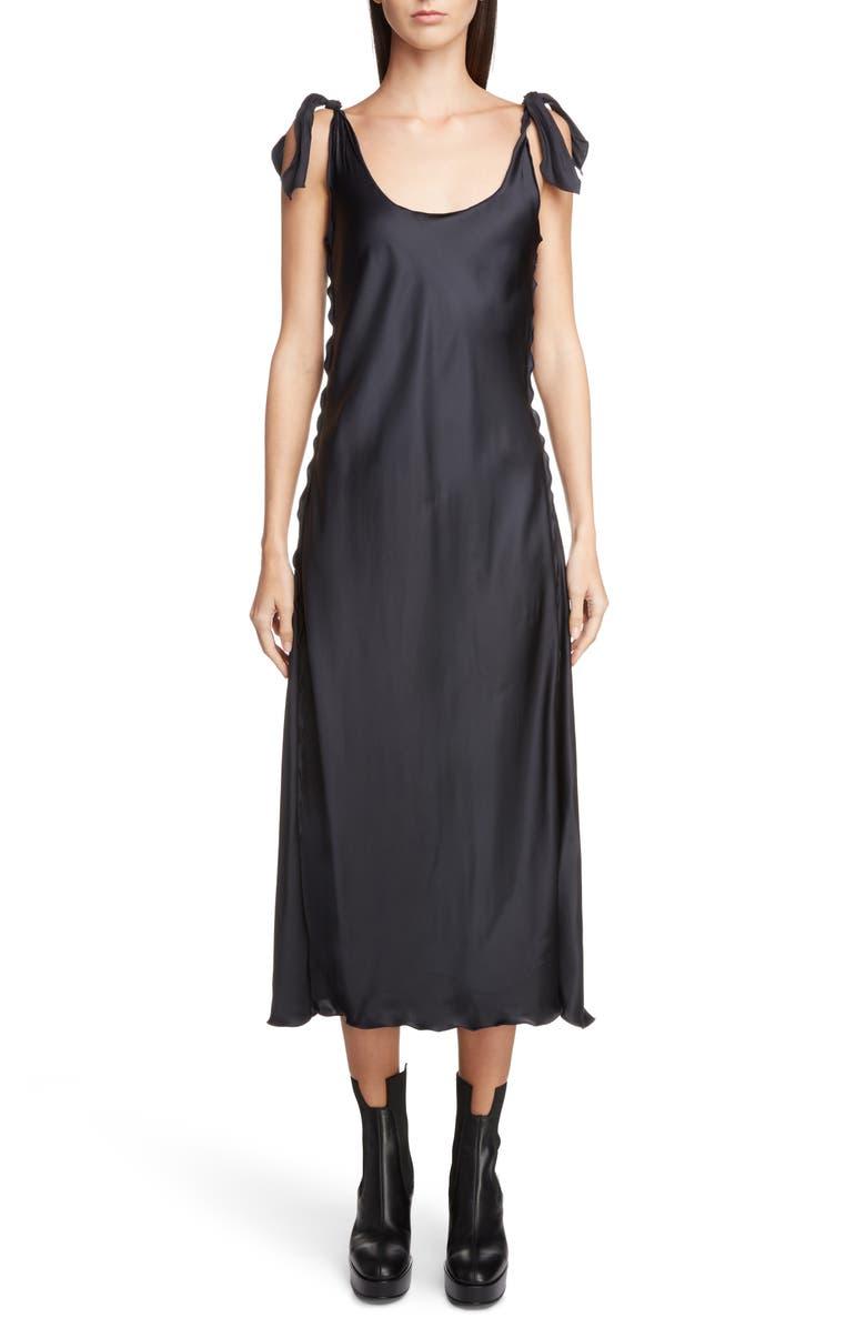 Shiny Slip Dress
