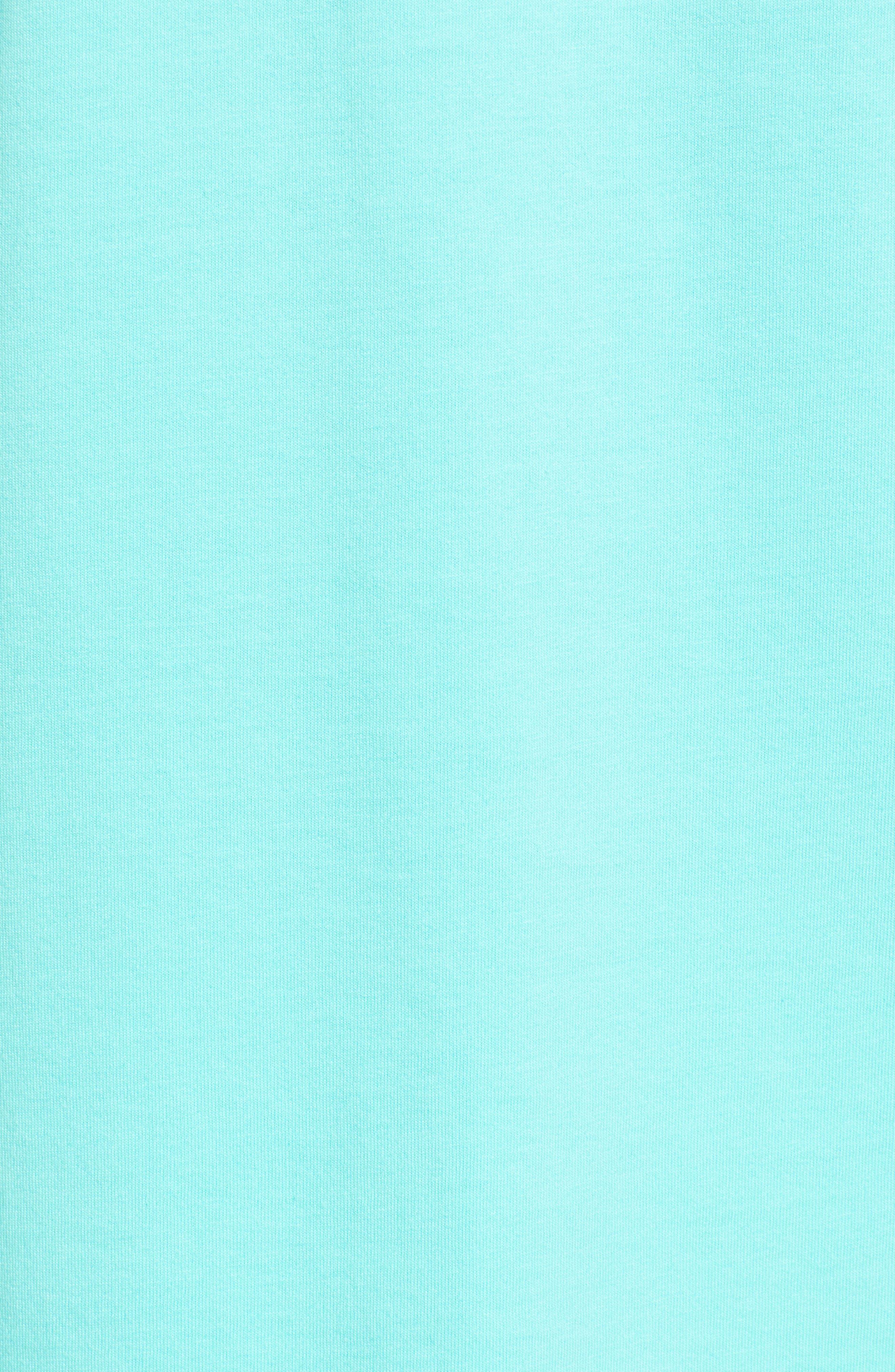 Starfish Whale Pocket T-Shirt,                             Alternate thumbnail 5, color,                             Capri Blue