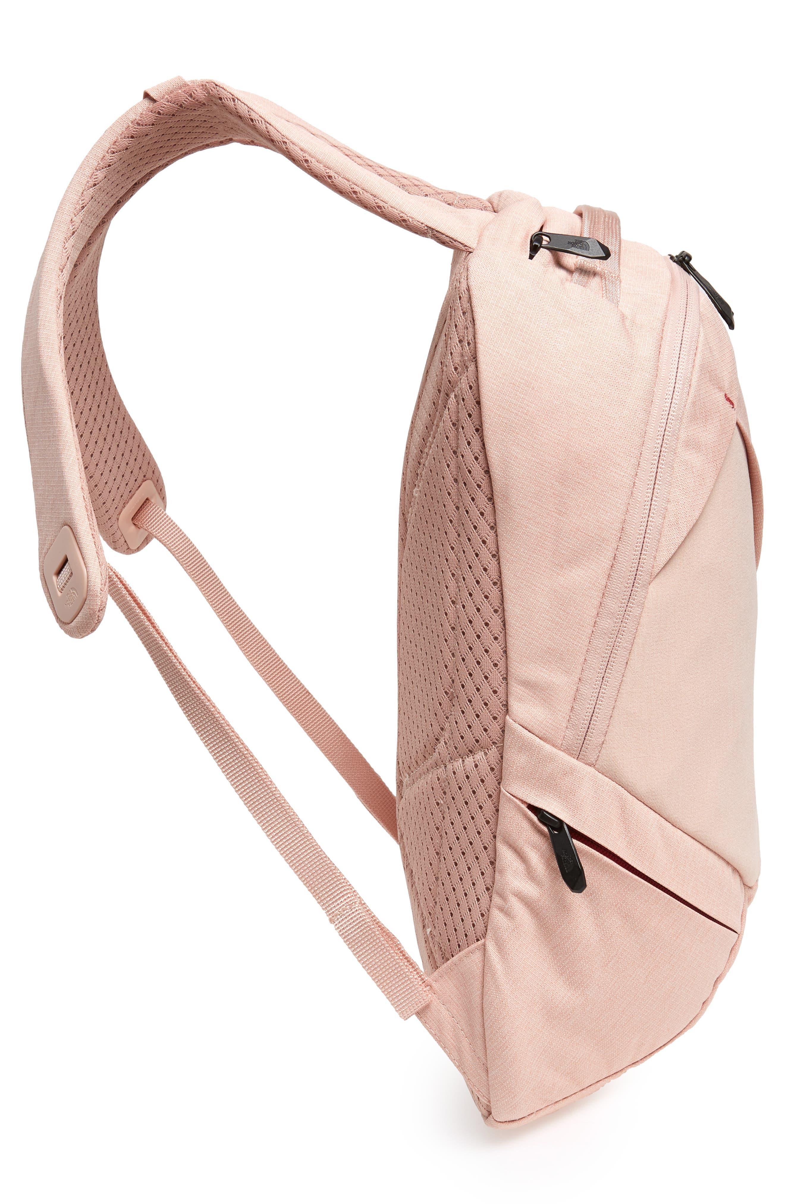 Electra Backpack,                             Alternate thumbnail 3, color,                             Misty Rose Heather