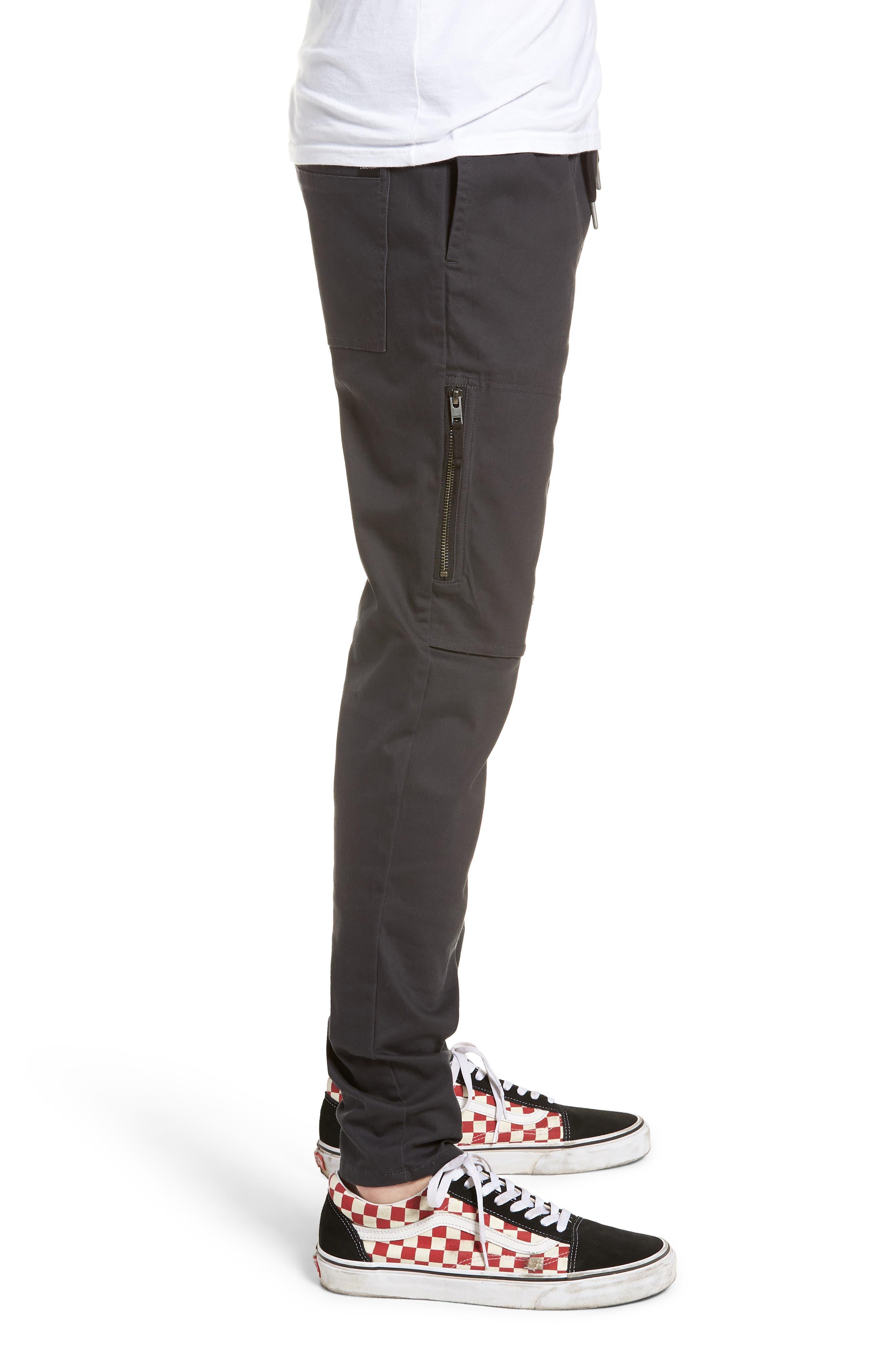 Blockshot Jogger Pants,                             Alternate thumbnail 3, color,                             Vintage Black/ Black