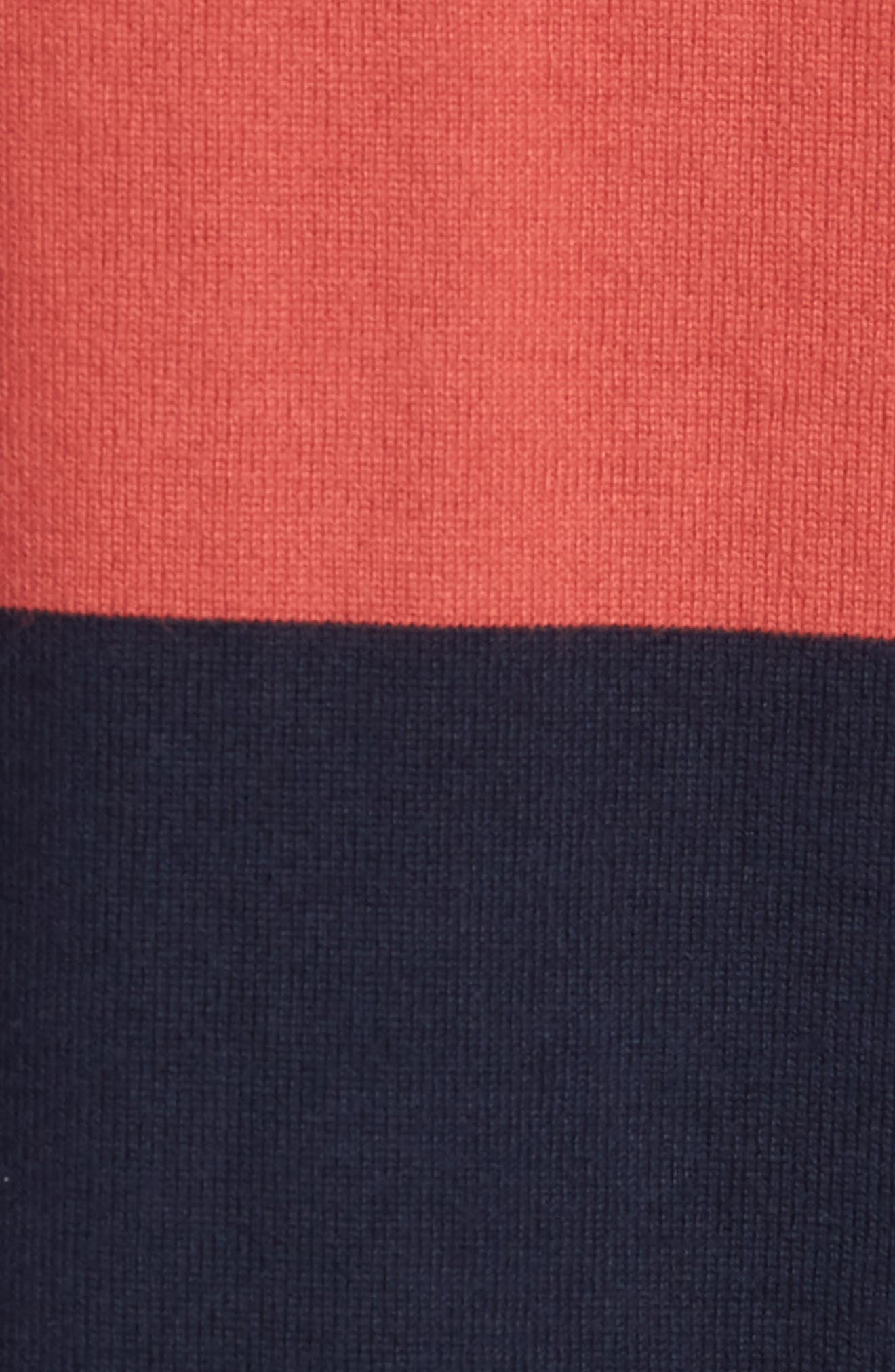1984 Stripe Rugby Shirt,                             Alternate thumbnail 5, color,                             Old Red