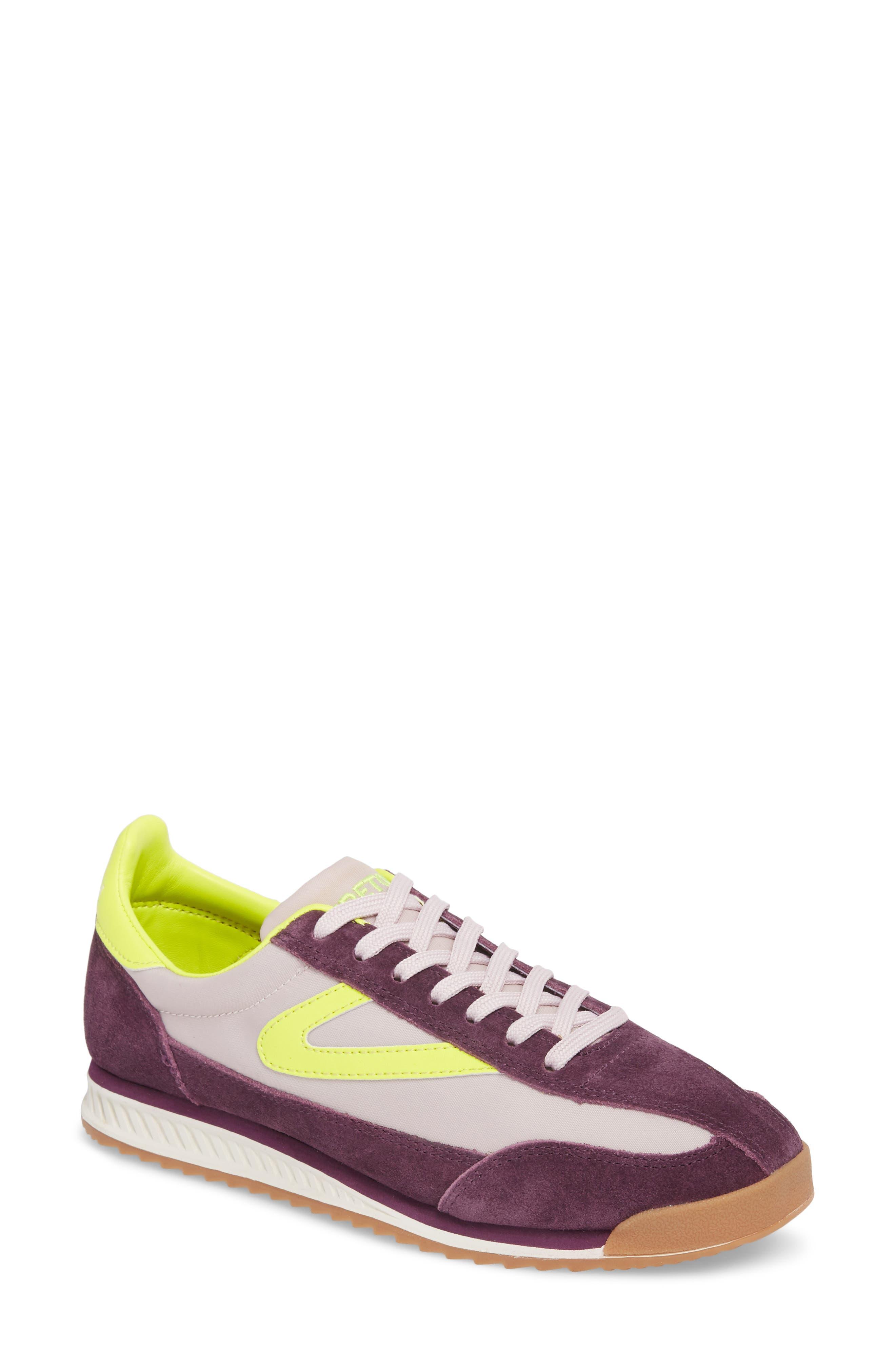 Rawlins 2 Sneaker,                             Main thumbnail 1, color,                             Eggplant/ Summer Lilac/ Yellow