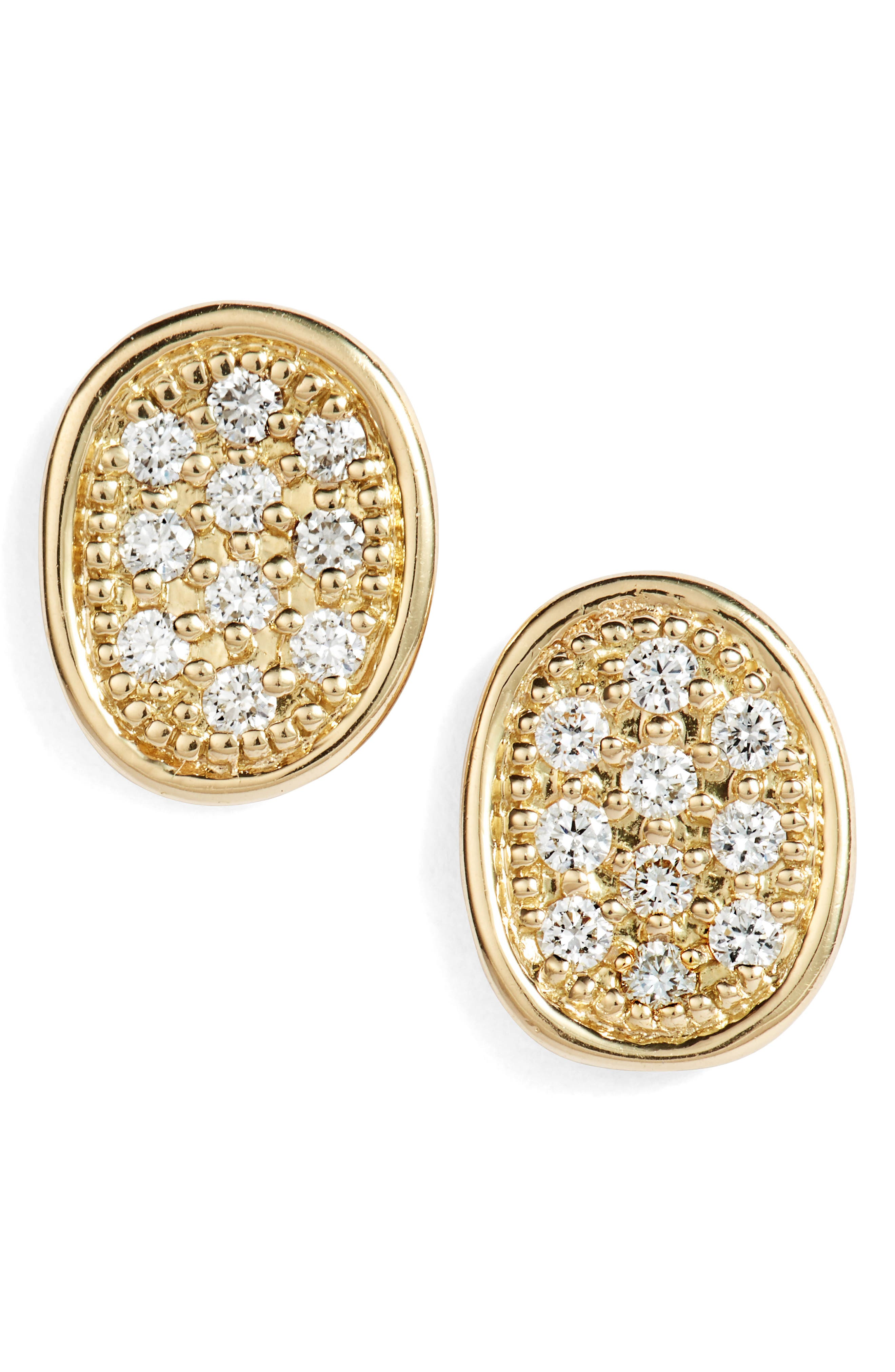 MARCO BICEGO LUNARIA DIAMONDS EARRINGS