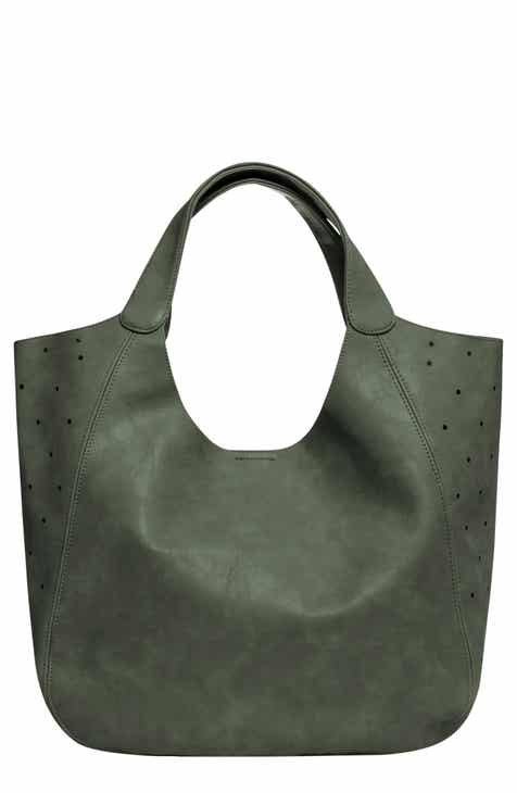 Urban Originals Masterpiece Perforated Vegan Leather Hobo