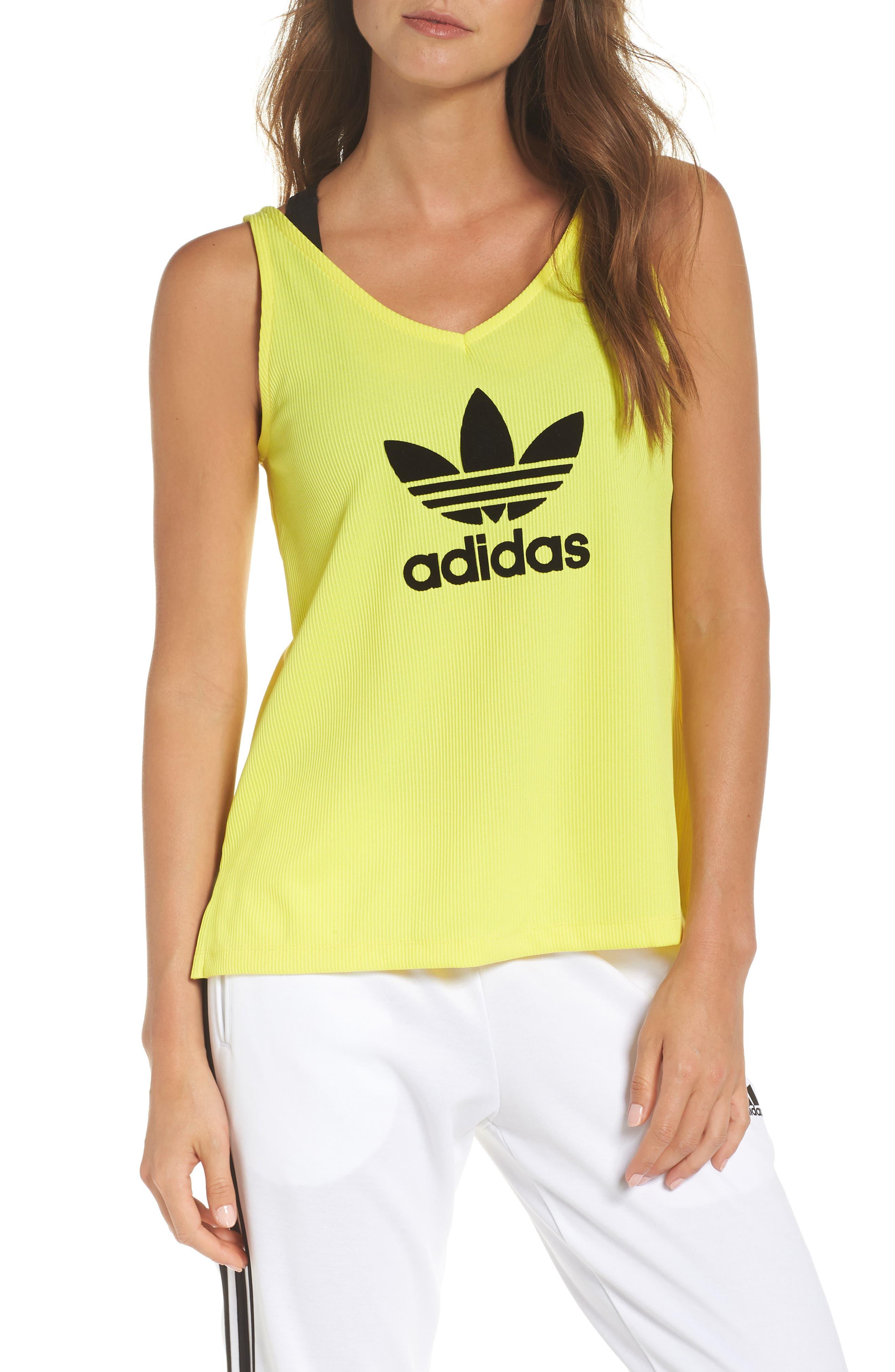 Originals Fashion League Tank,                         Main,                         color, Prime Yellow