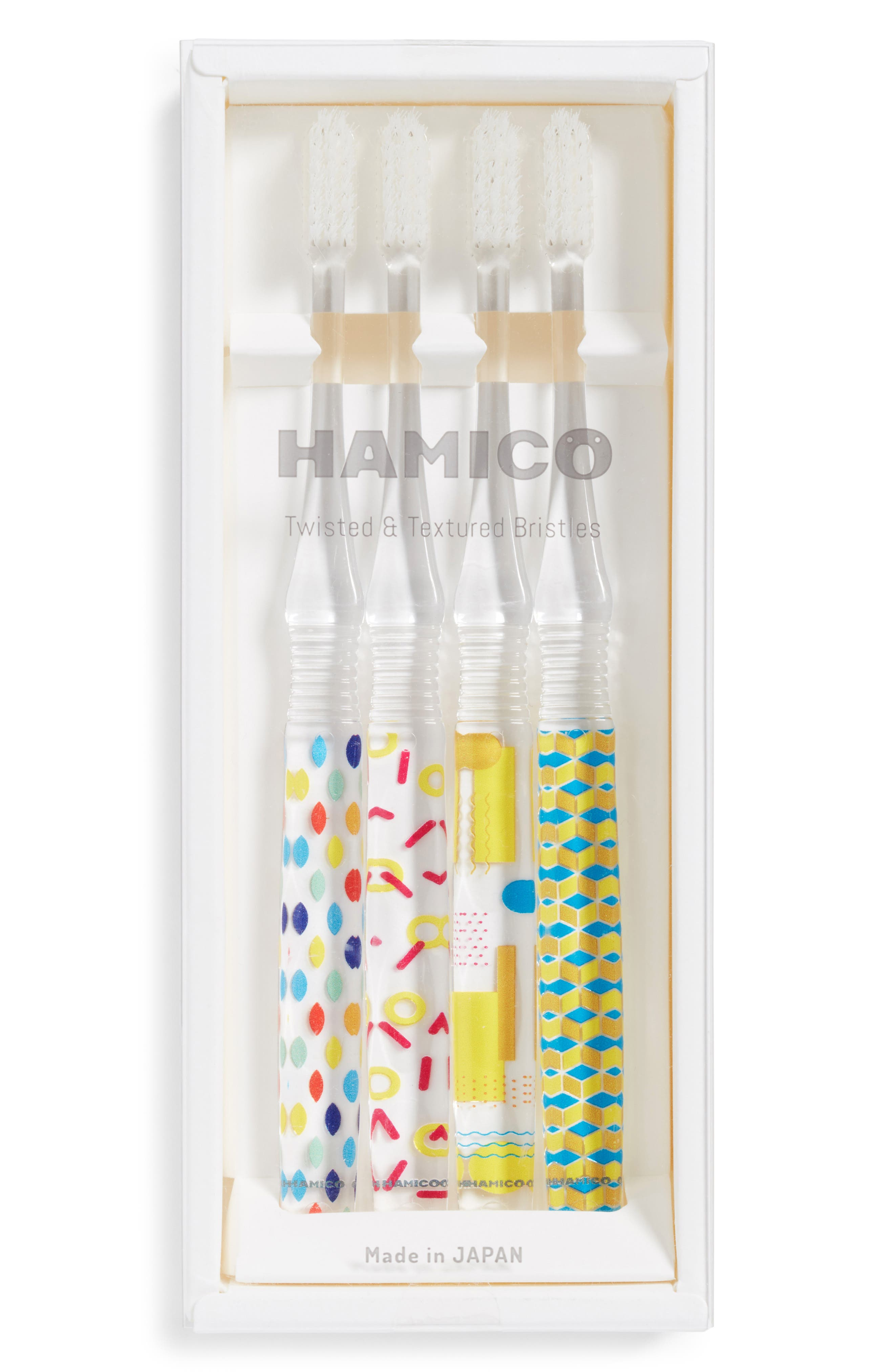 4-Piece Toothbrush Gift Set,                             Alternate thumbnail 2, color,                             Multi