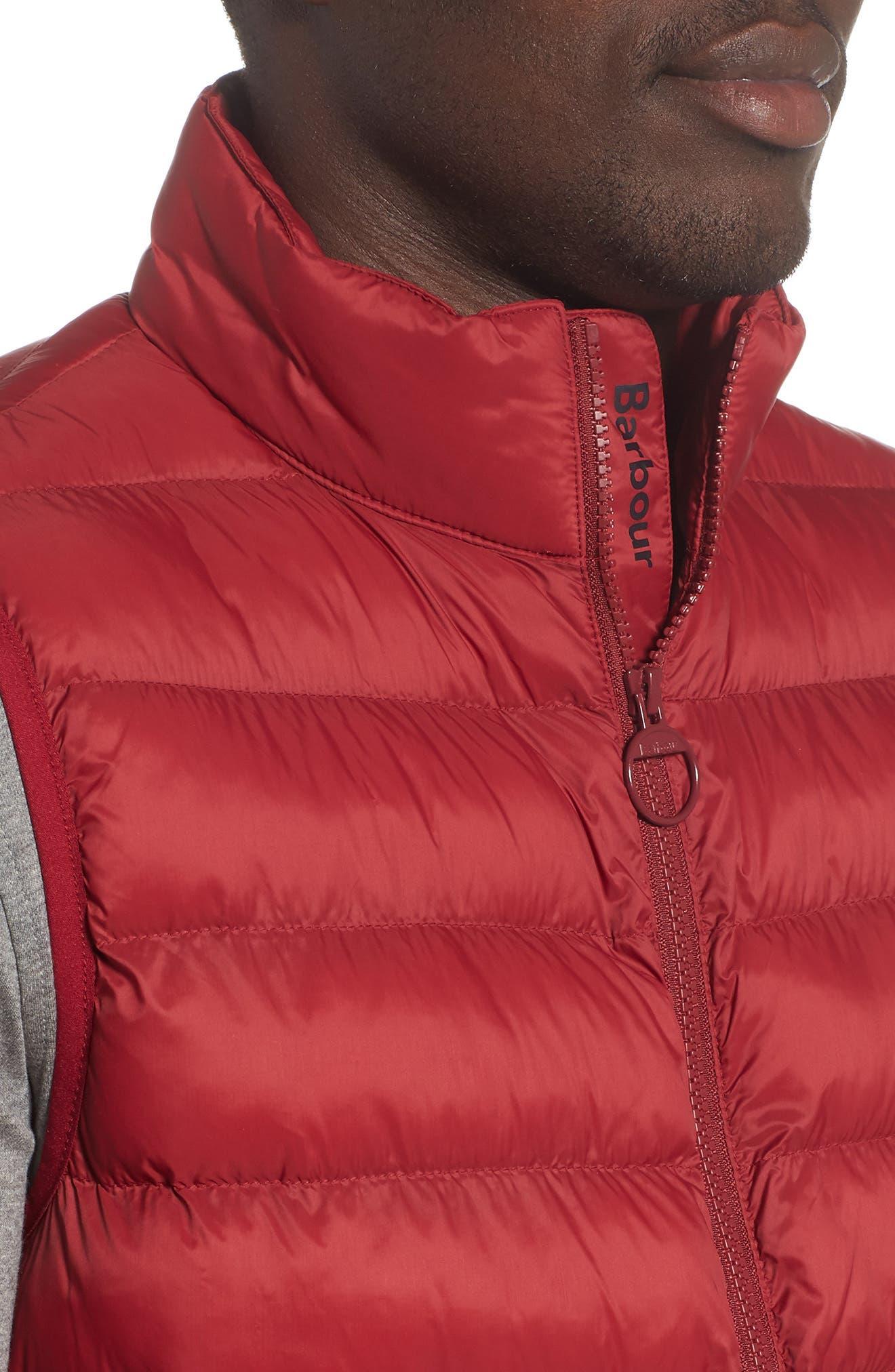 Askham Quilted Vest,                             Alternate thumbnail 4, color,                             Biking Red