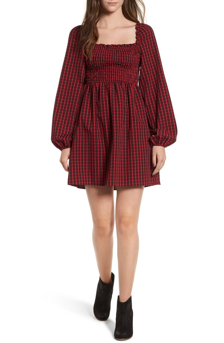 The Fifth Label CAMPUS SMOCKED DRESS