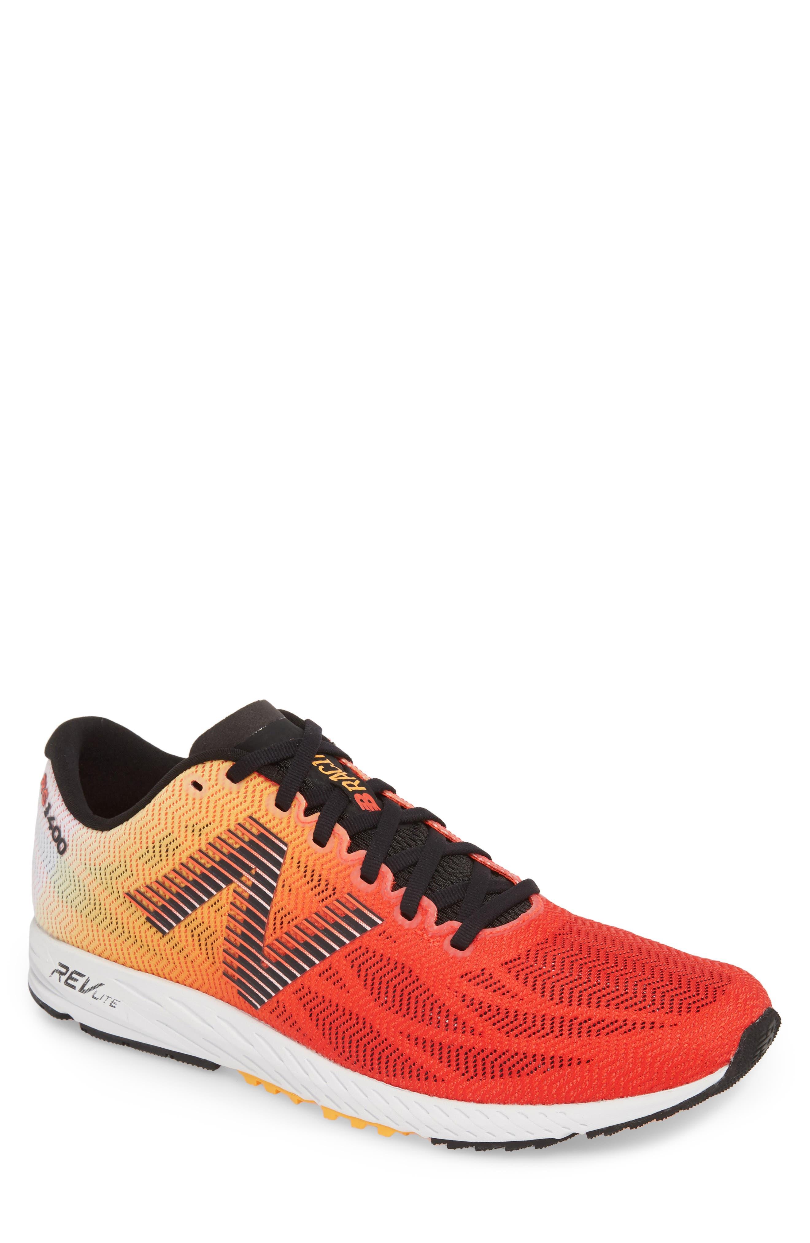 1400v6 Running Shoe,                             Main thumbnail 1, color,                             White Munsell