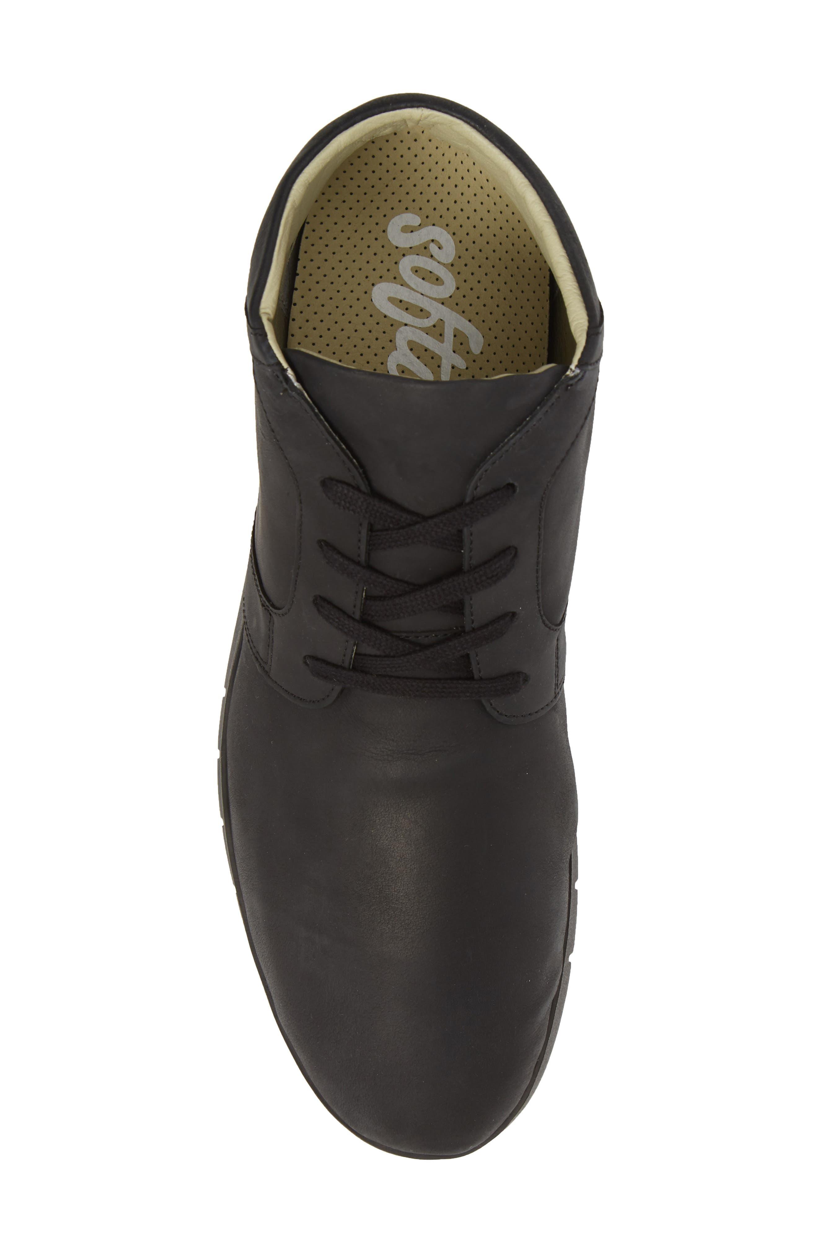 Cul Boot,                             Alternate thumbnail 5, color,                             Black Corgi Leather