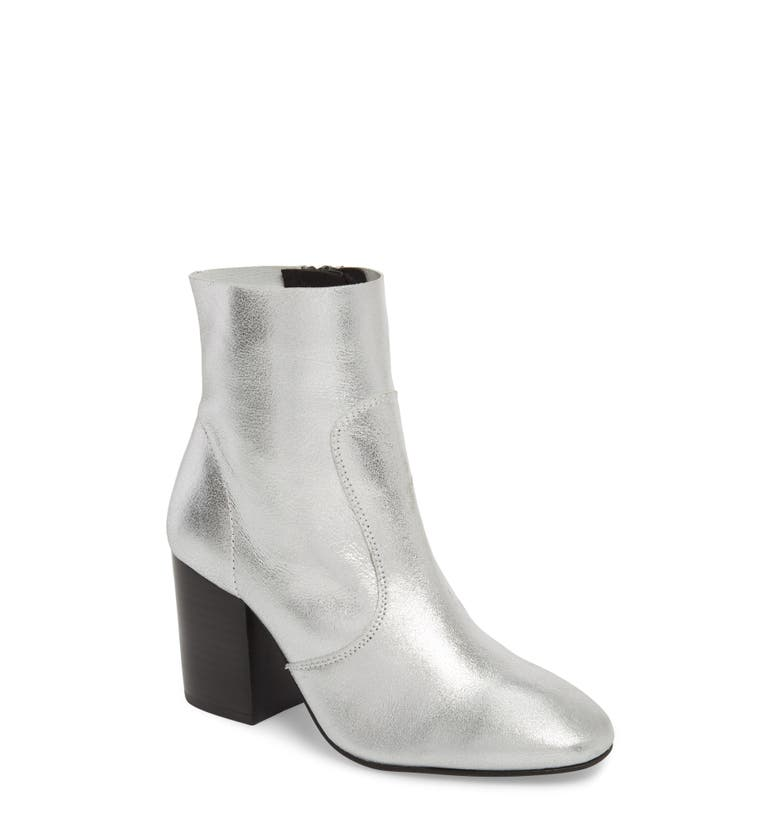 Bonnie Bootie,                         Main,                         color, Silver Leather
