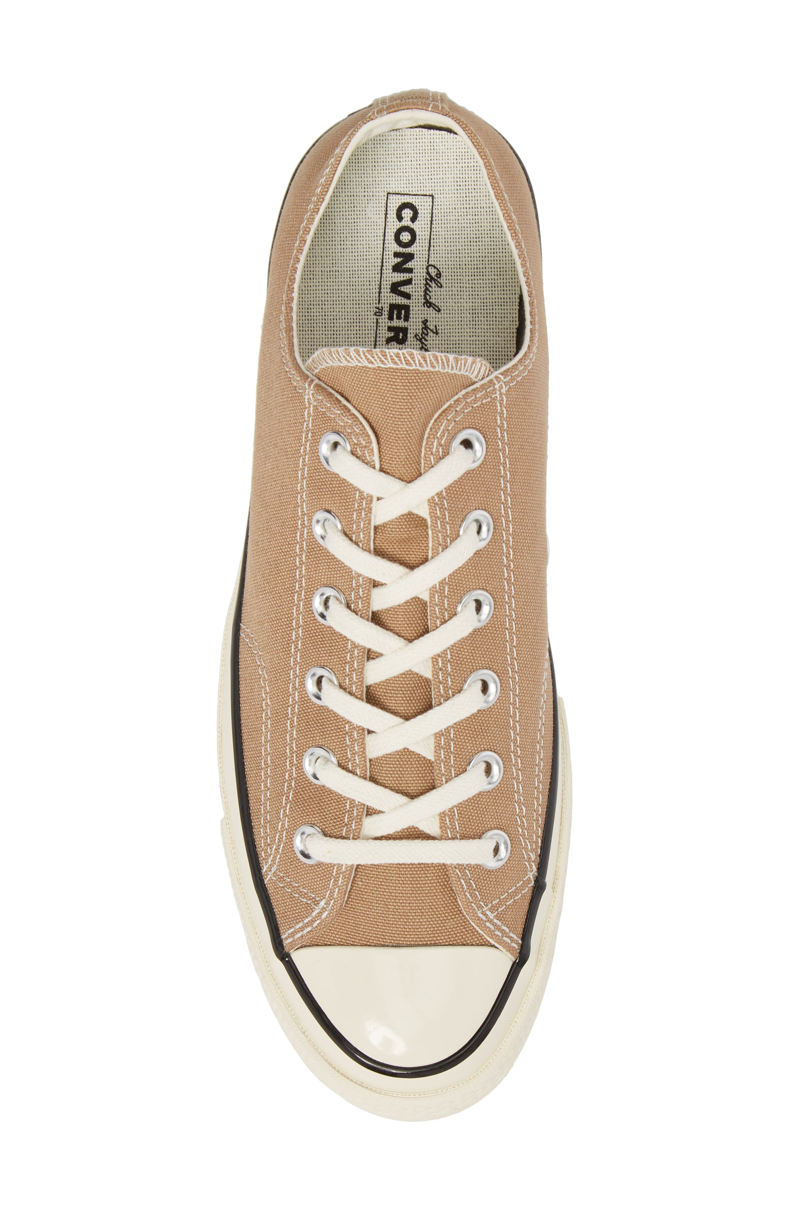 Chuck Taylor<sup>®</sup> All Star<sup>®</sup> 70 Heritage Sneaker,                             Alternate thumbnail 3, color,                             Teak Canvas