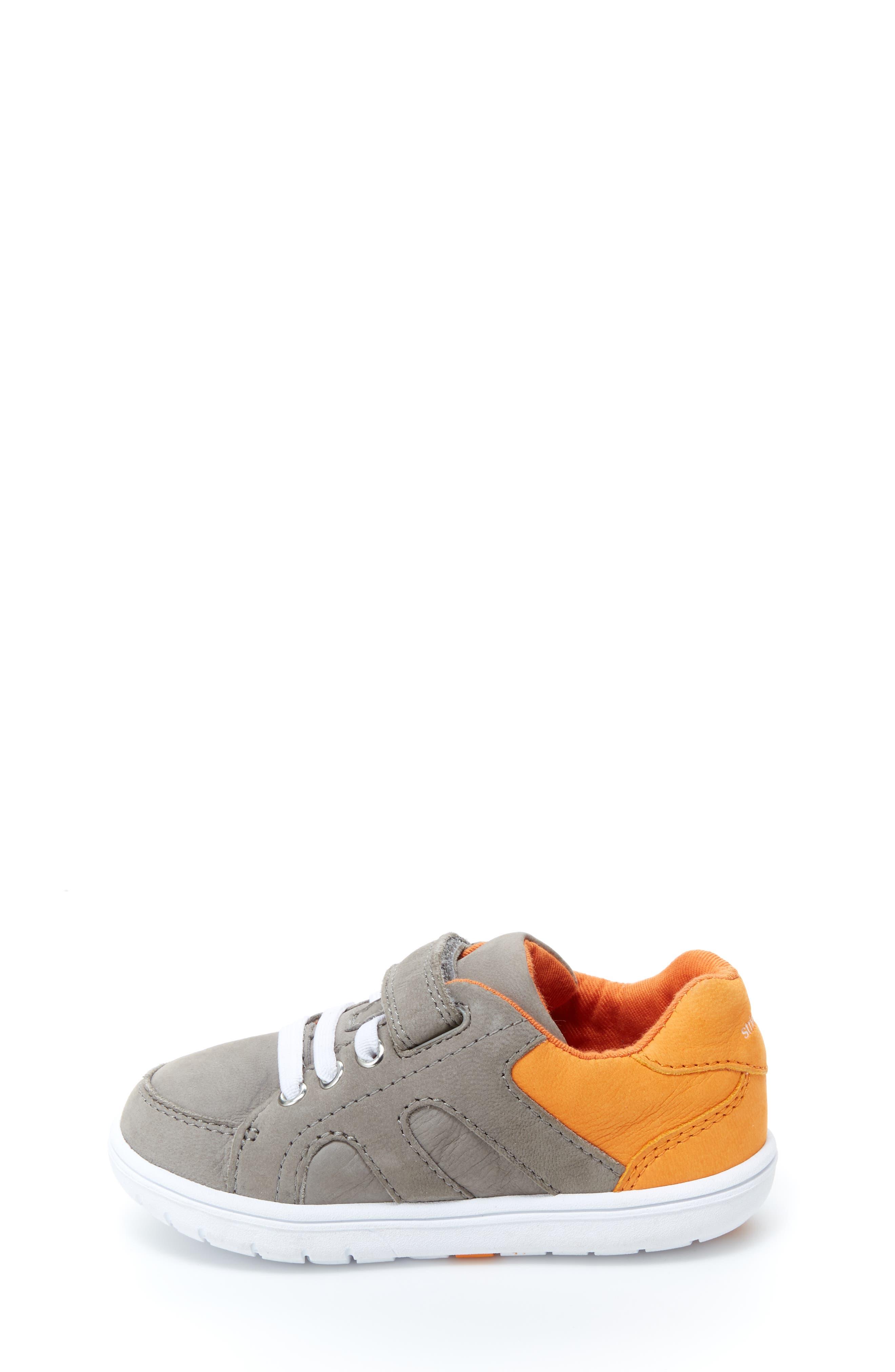 SRT Noe Sneaker,                             Alternate thumbnail 2, color,                             Grey/ Orange