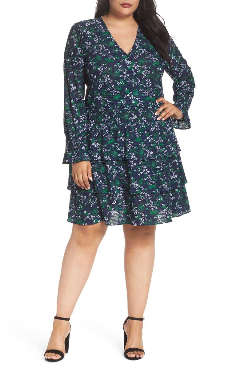 Boho Floral Print Dress