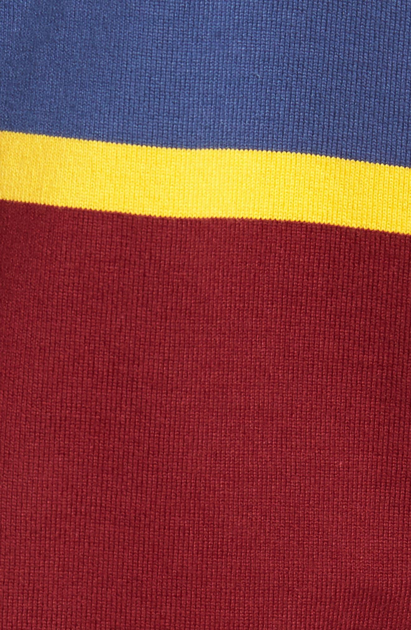 1984 Rugby Shirt,                             Alternate thumbnail 5, color,                             Mahogany
