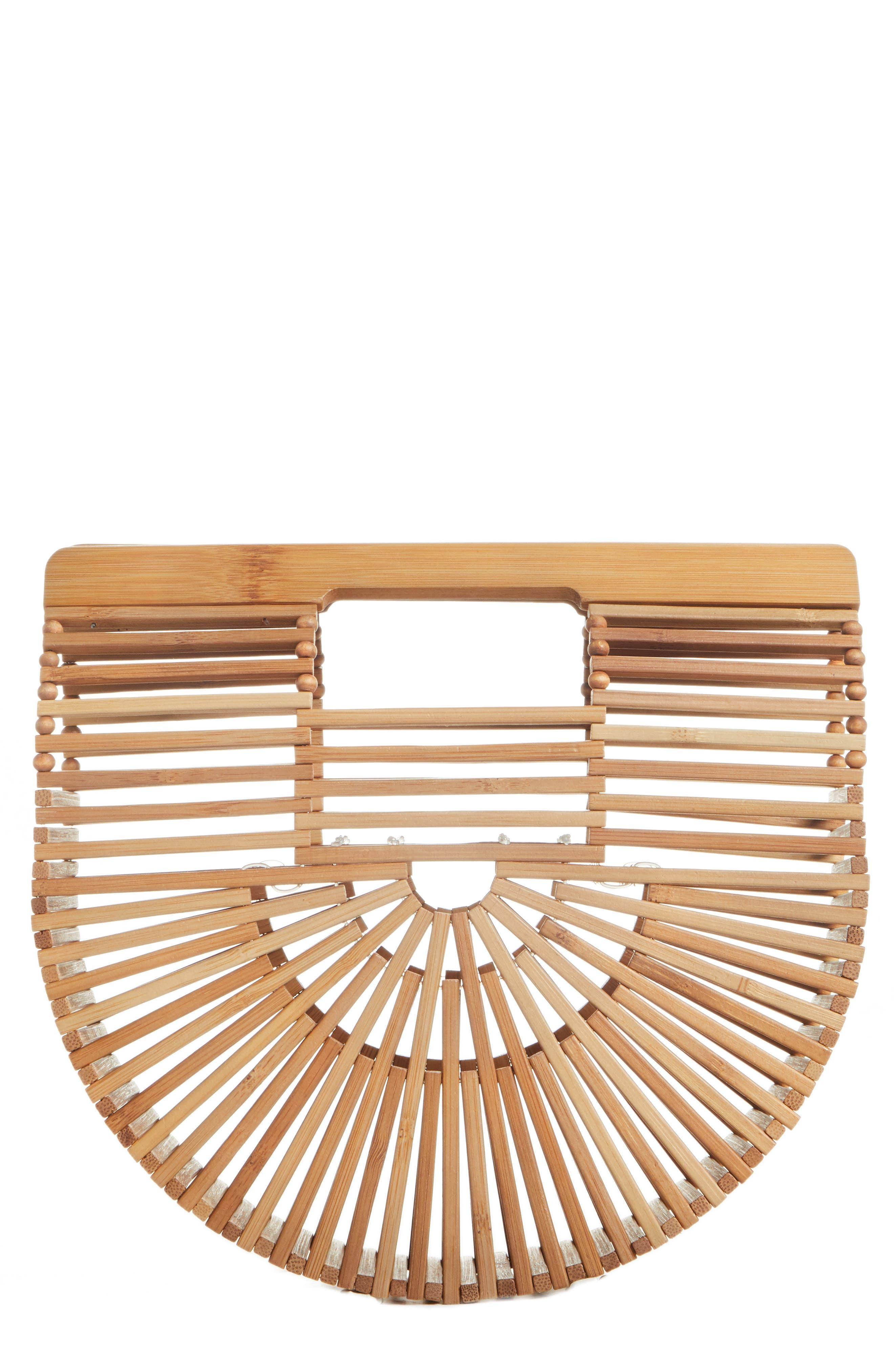 Mini Ark Handbag,                         Main,                         color, Chestnut