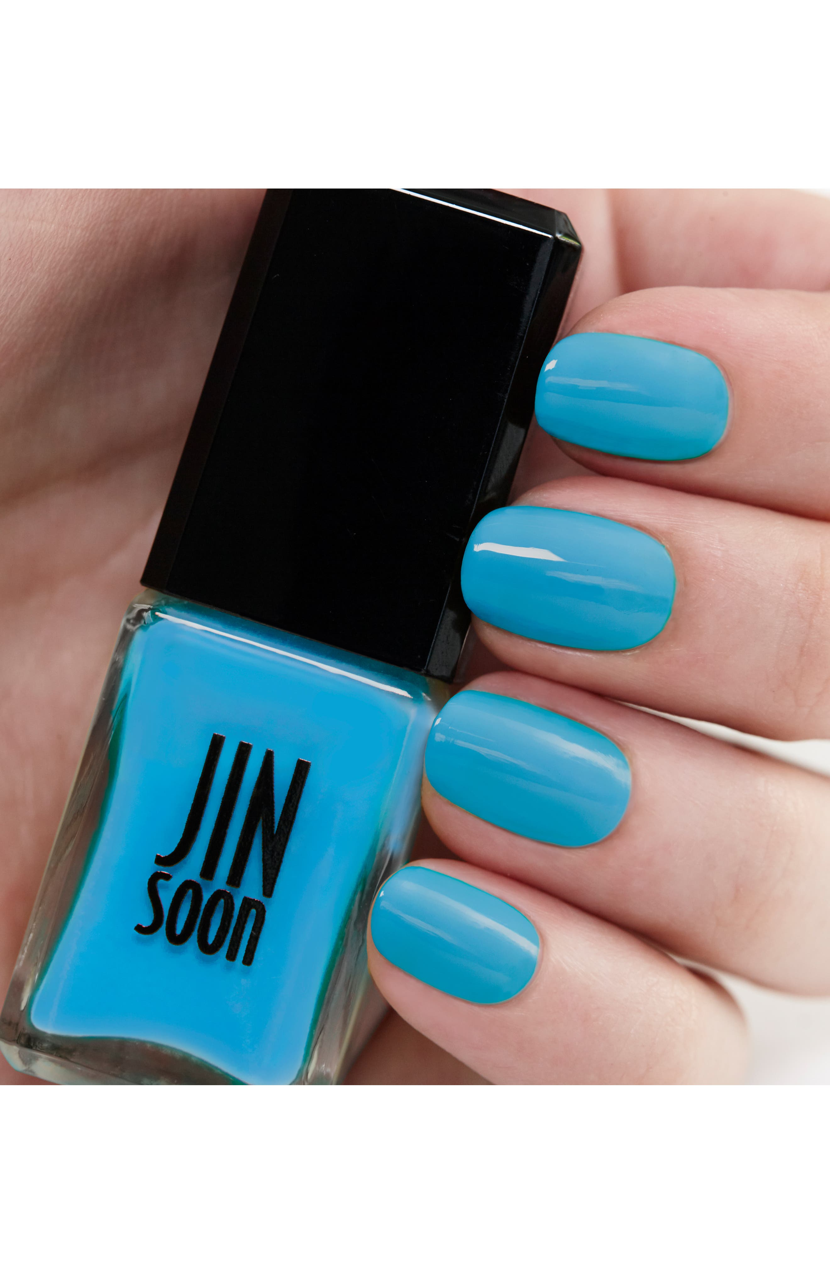 'Poppy Blue' Nail Lacquer,                             Alternate thumbnail 2, color,                             Poppy Blue