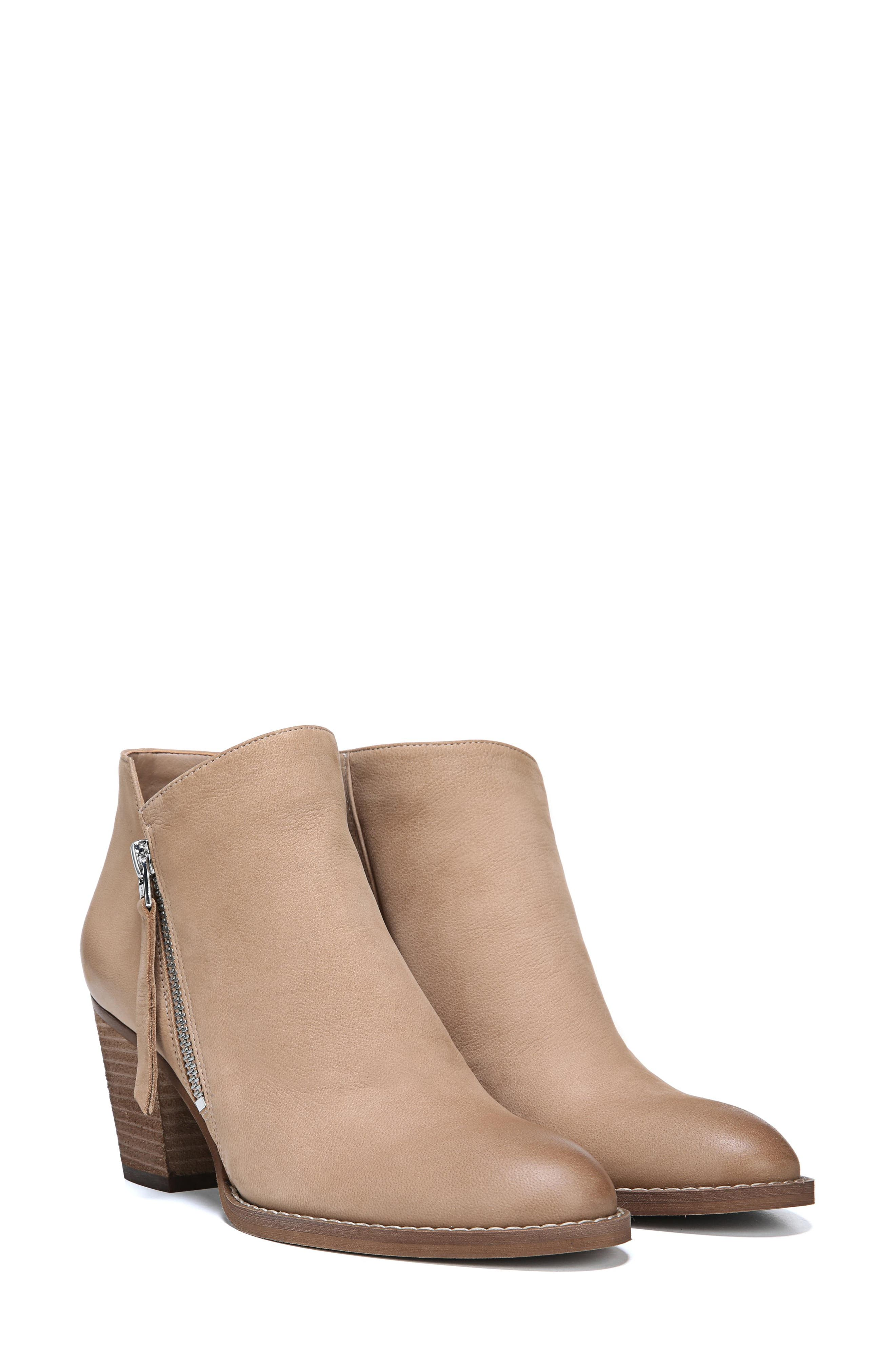 Macon Bootie,                         Main,                         color, Golden Caramel Nubuck Leather