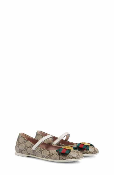 e13b5733a93 Gucci  Erin  Mary Jane Flat (Baby