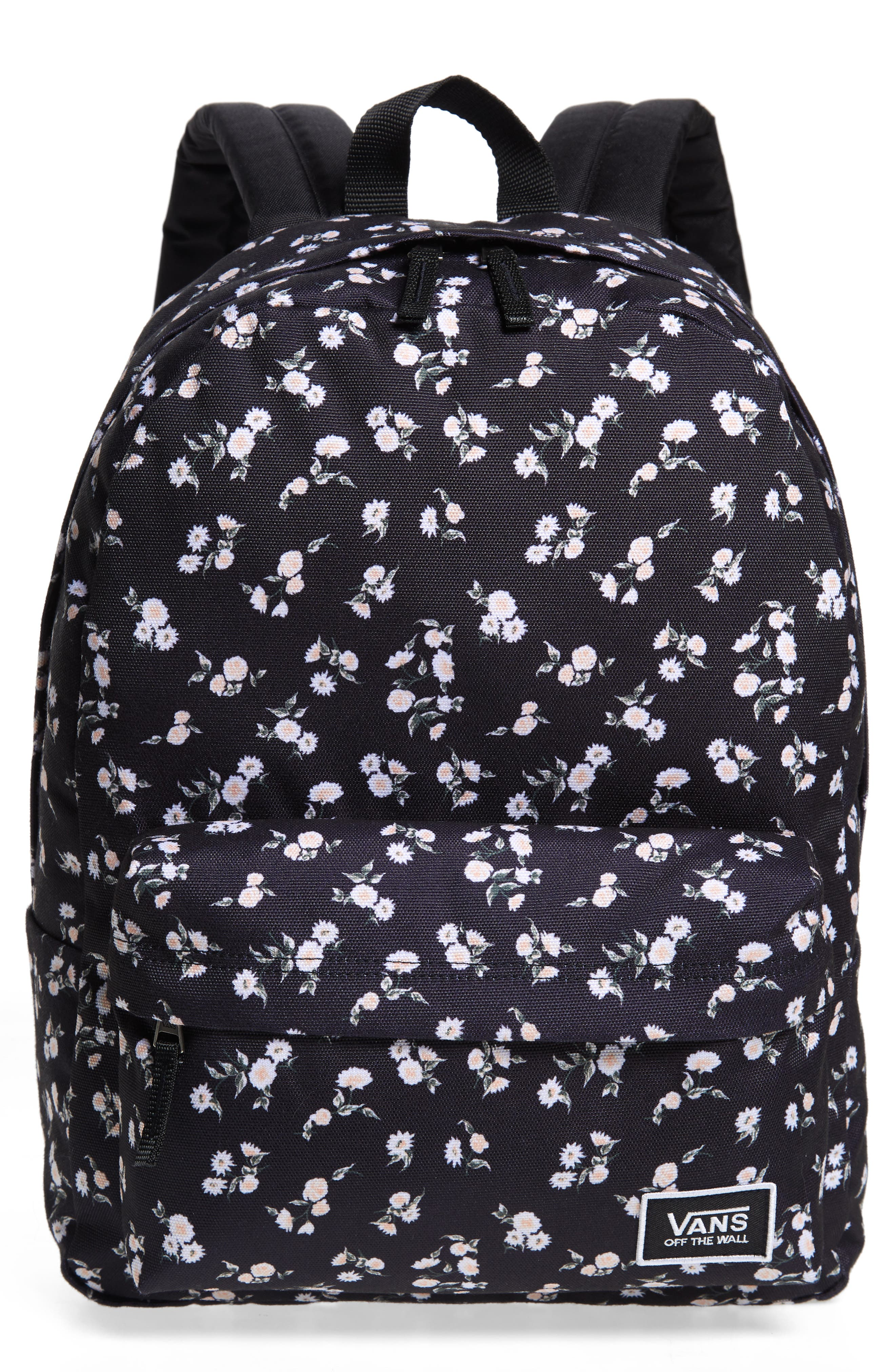vans off the wall backpack pink